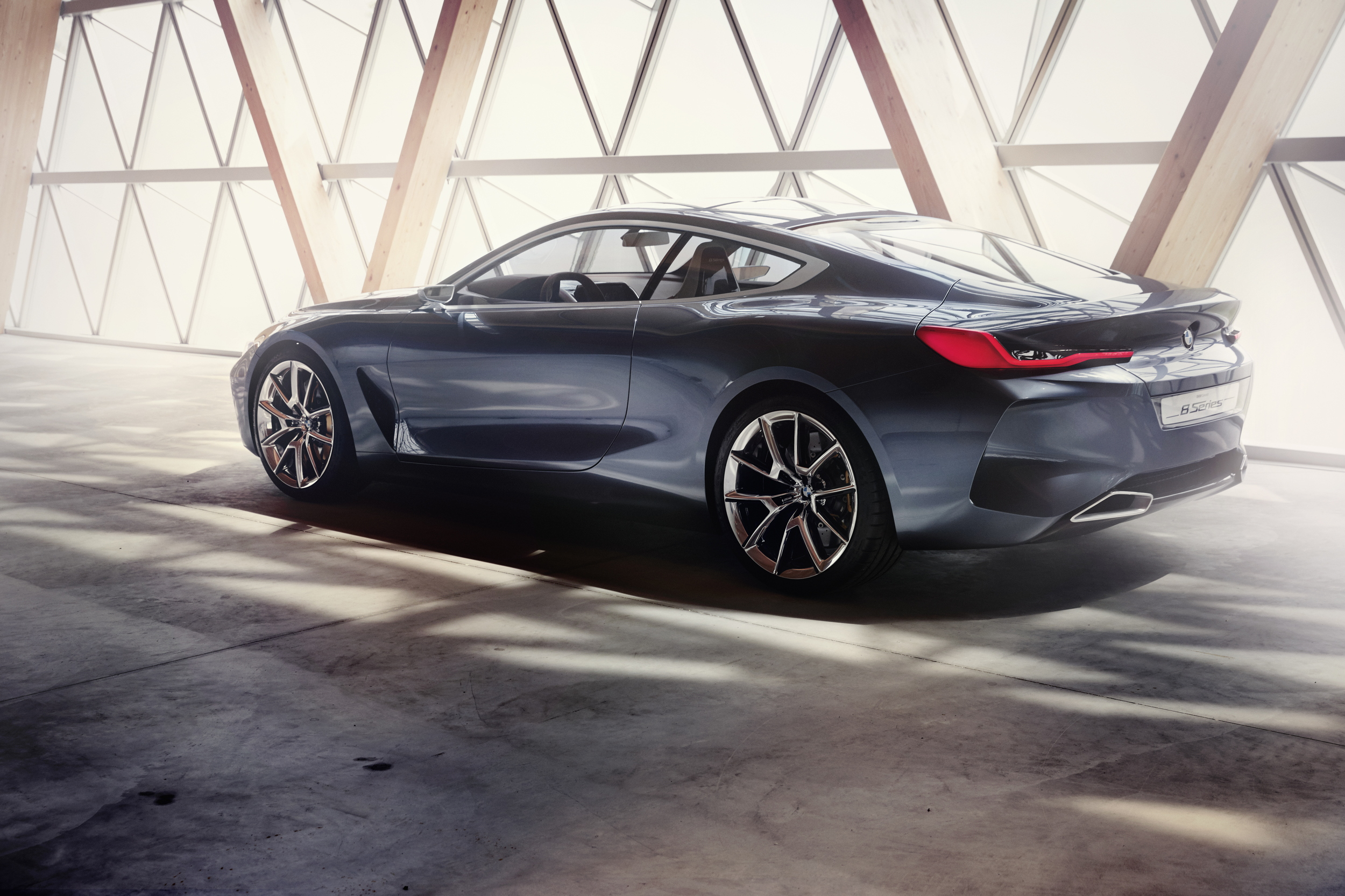 BMW Concept 8 Series rear angle