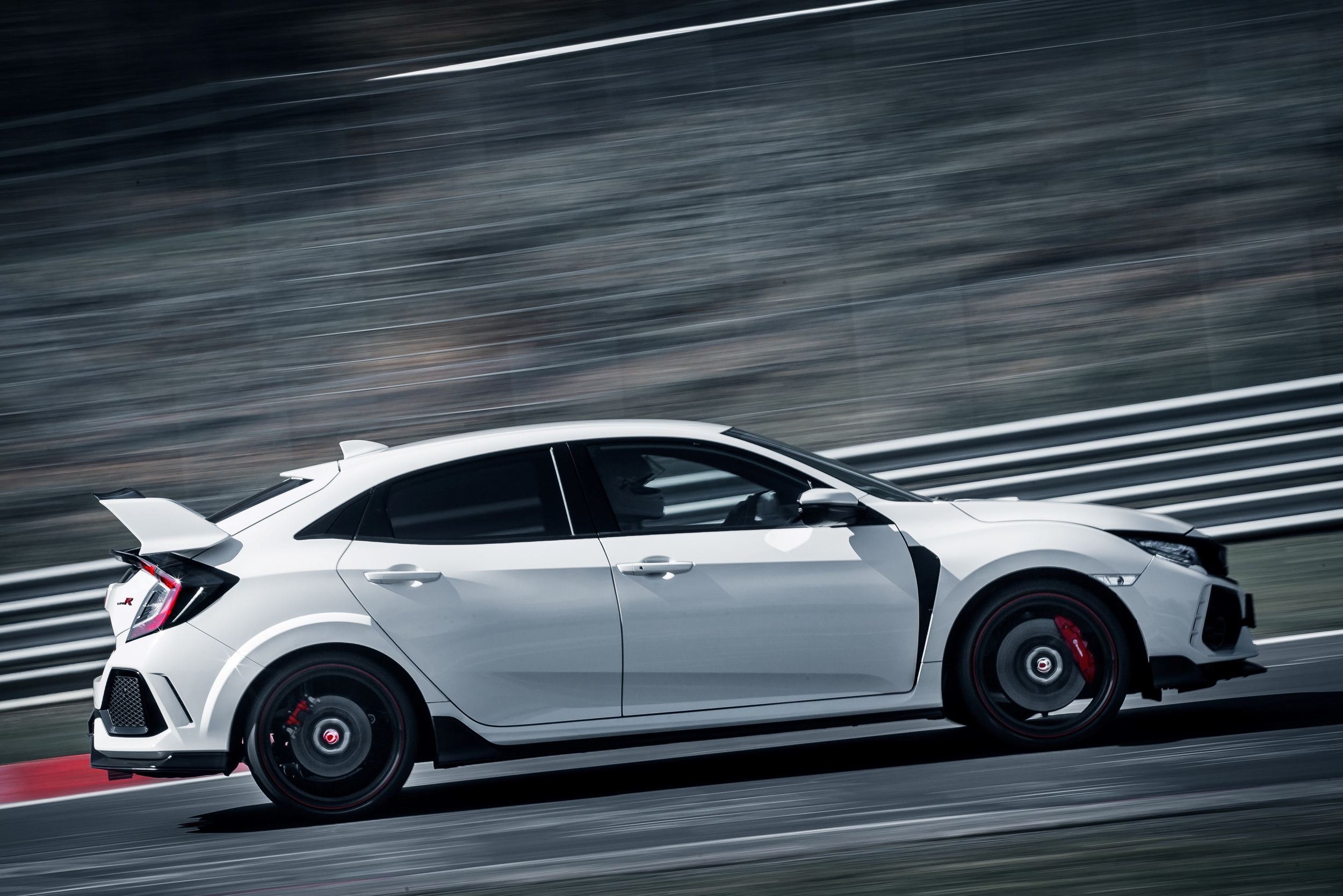 2017 HONDA CIVIC TYPE R side