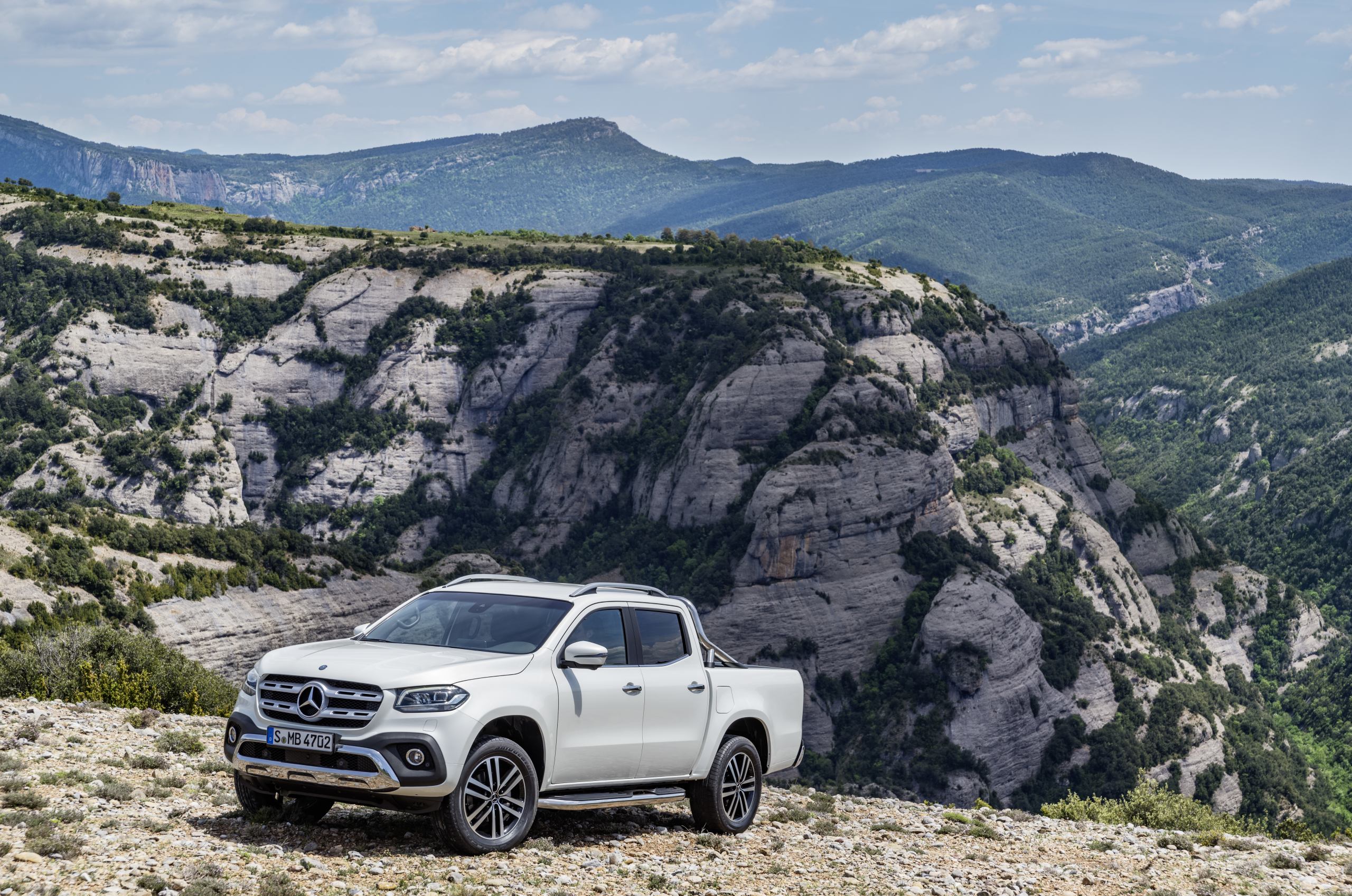 Mercedes-Benz X-Class Power
