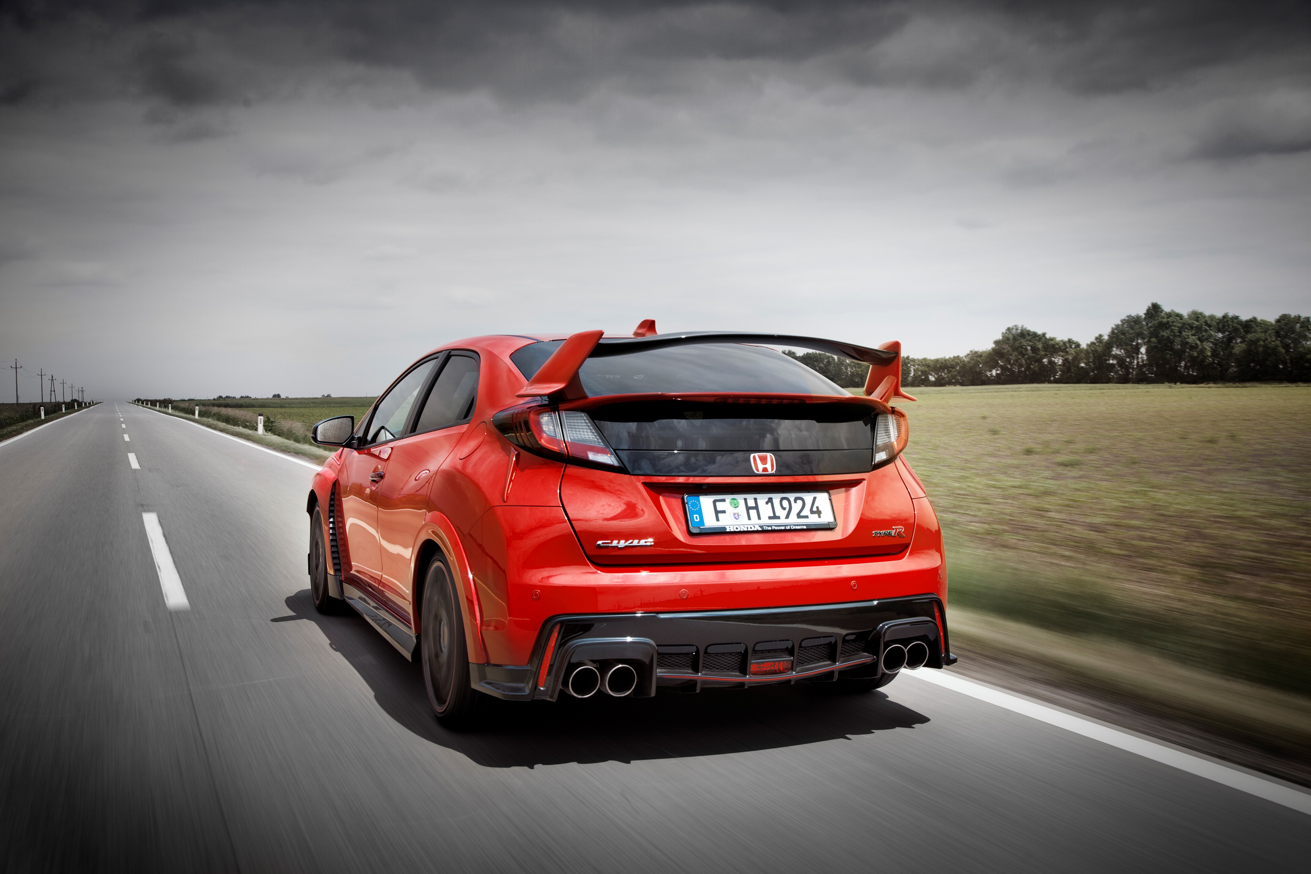 2015 Honda Civic Type R FK2 rear