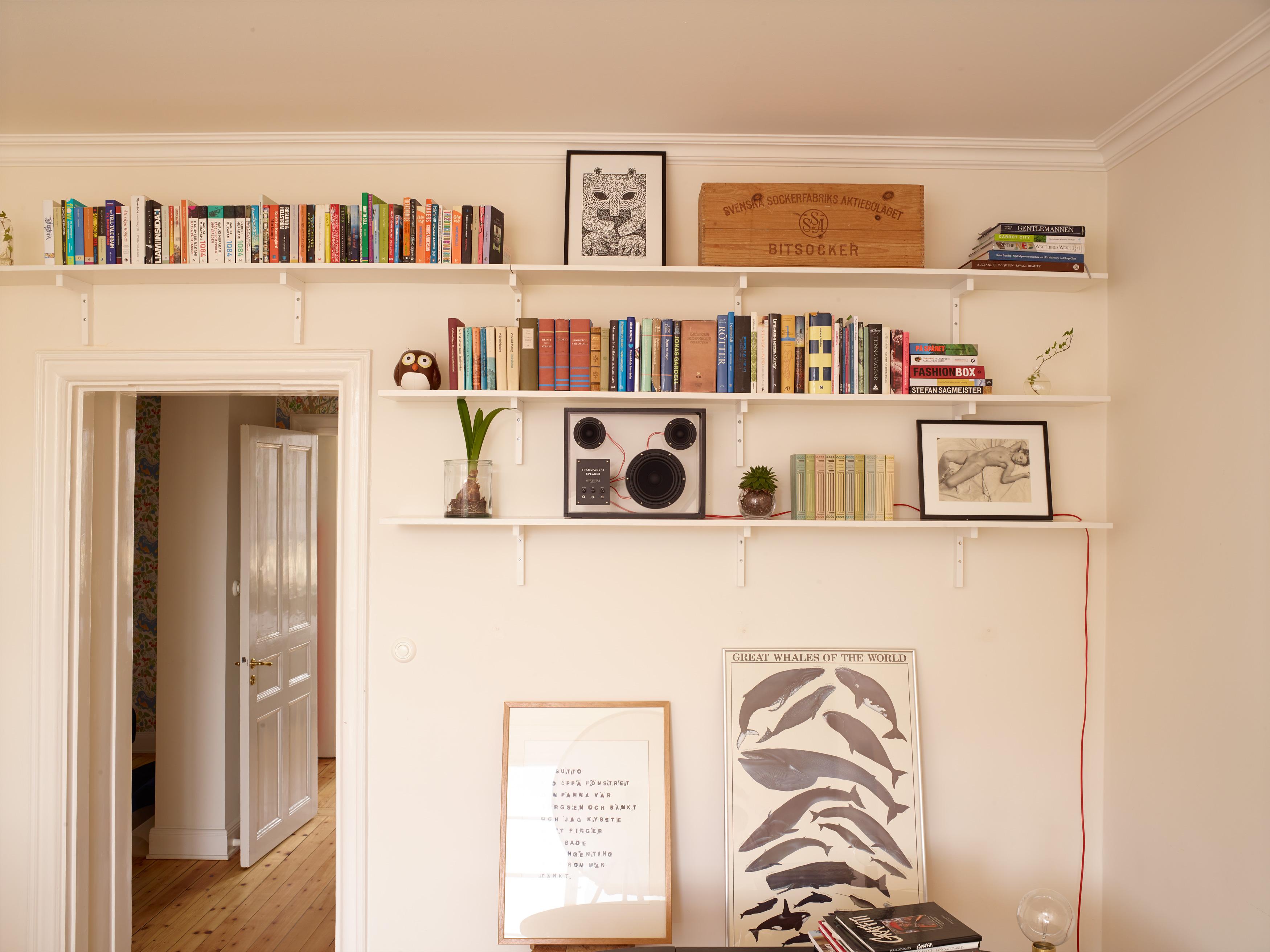 People People Transparent Speaker bookshelf