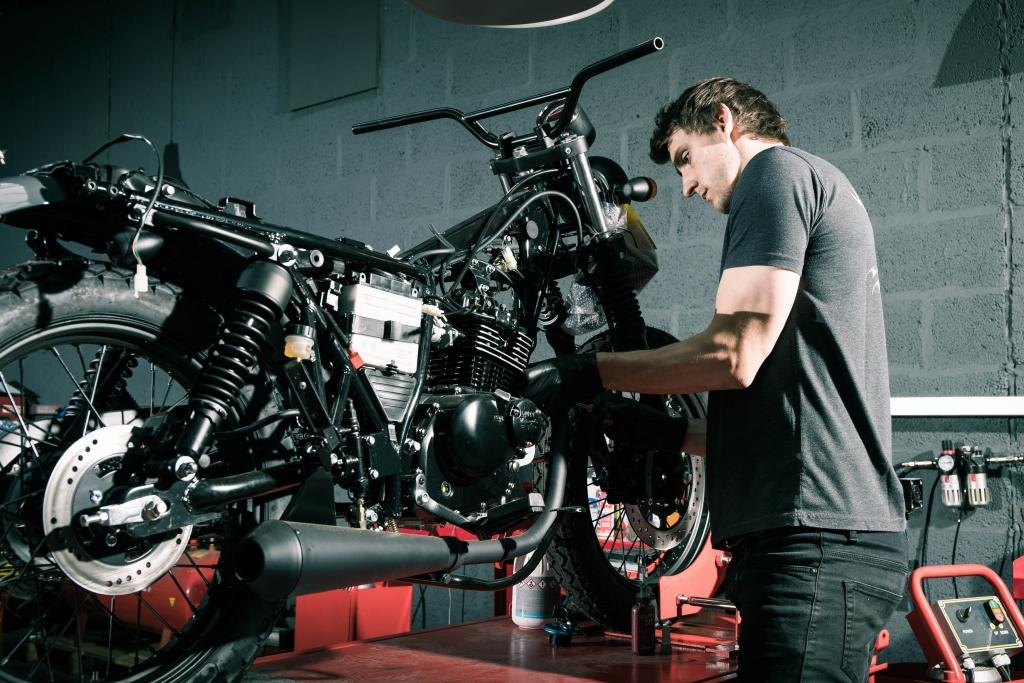 Mutt Motorcycles HQ Visit