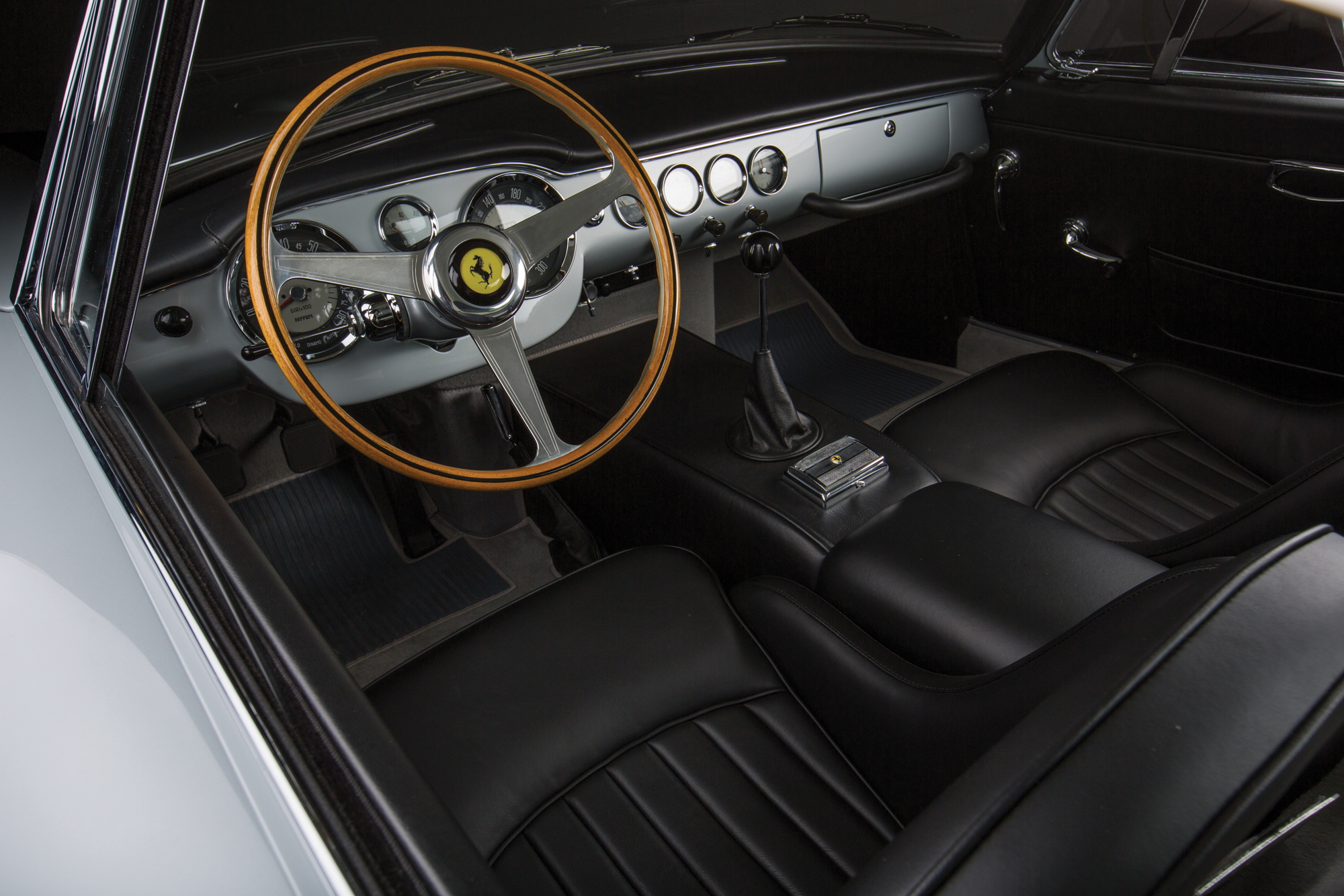 Ferrari 250 GT SWB interior Monterey car week 2017