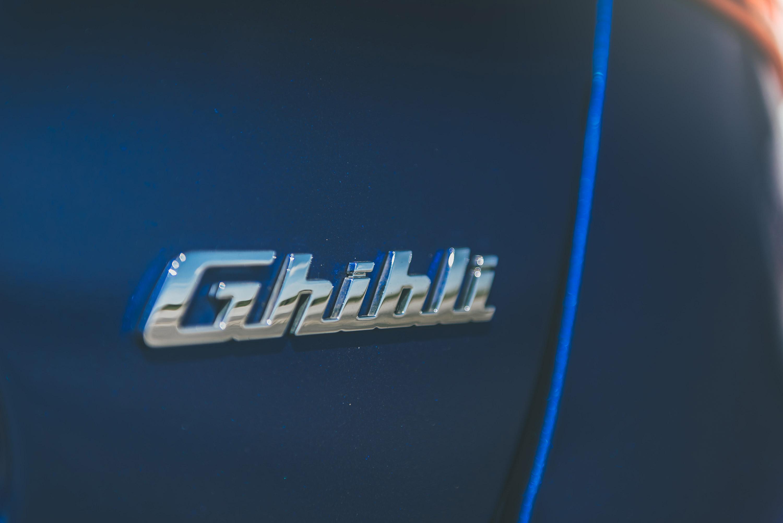 Maserati Ghibli badge