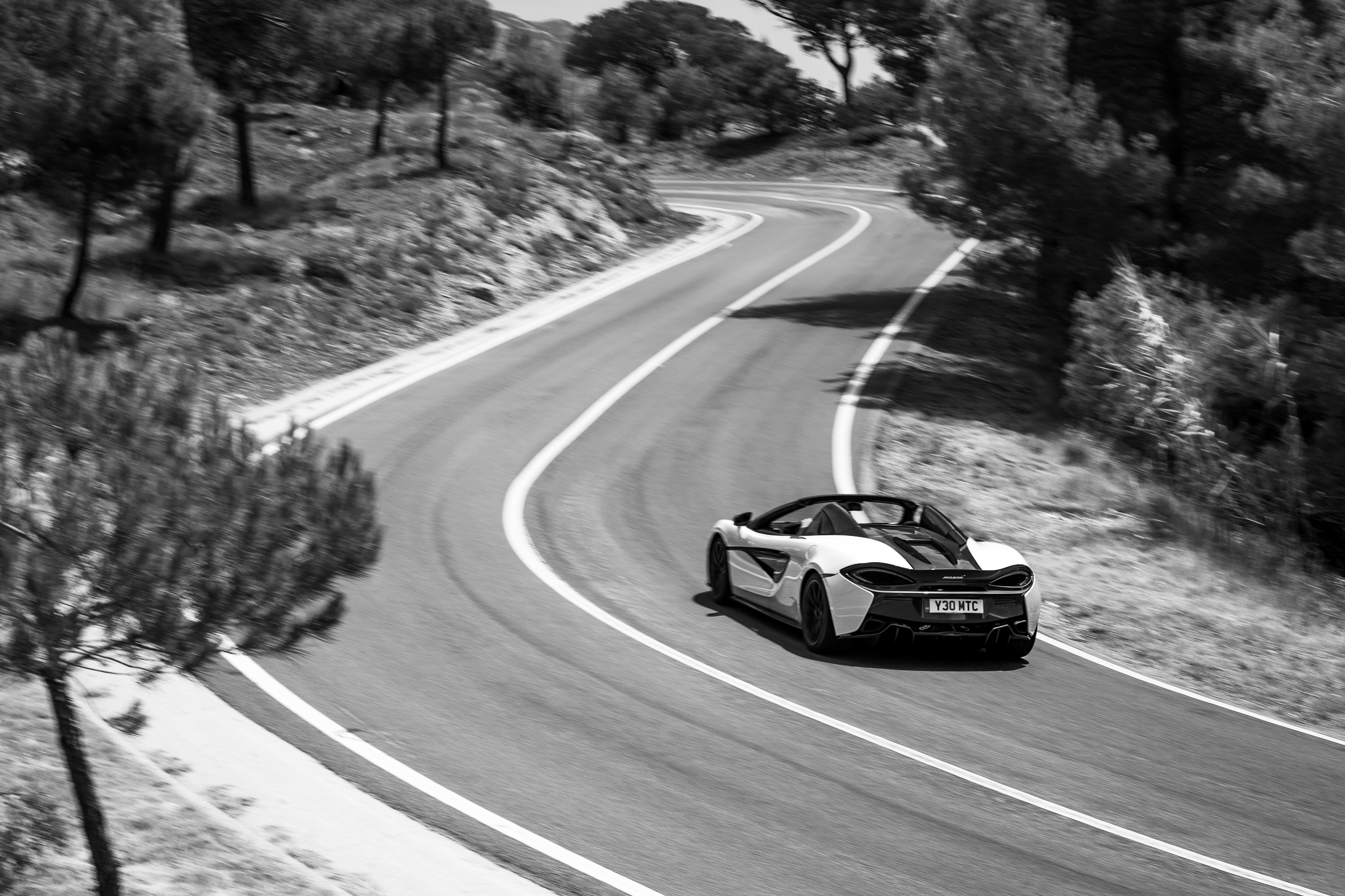 McLaren 570S Spider Launch