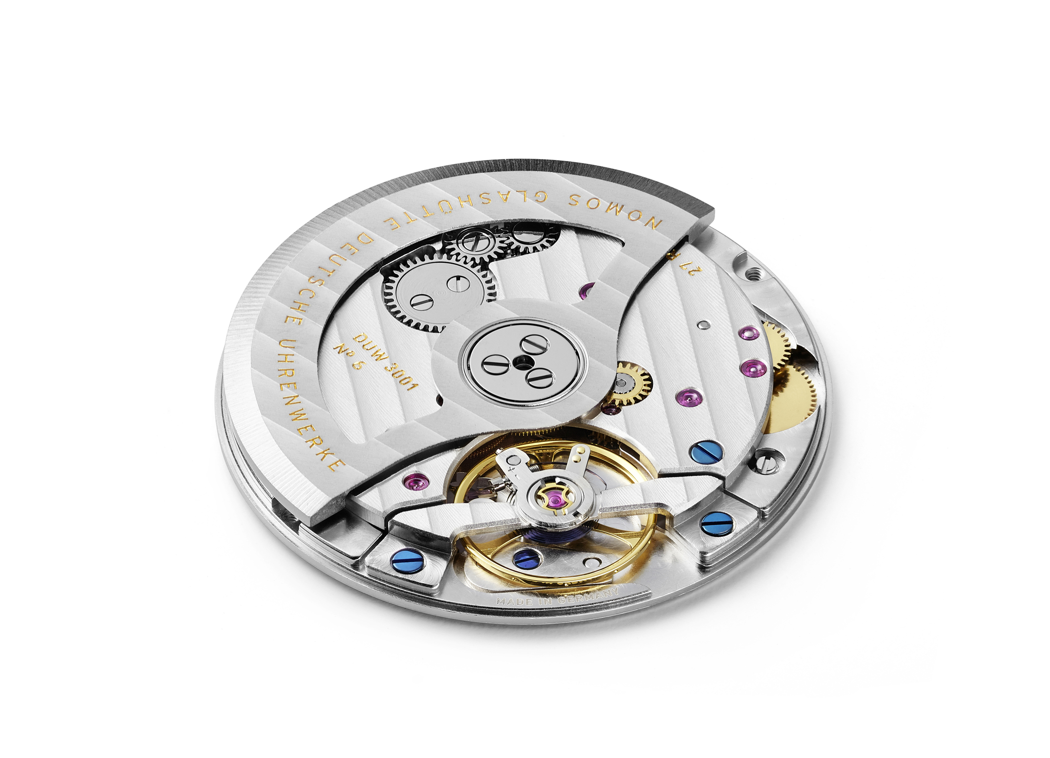 NOMOS DUW 3001 movement