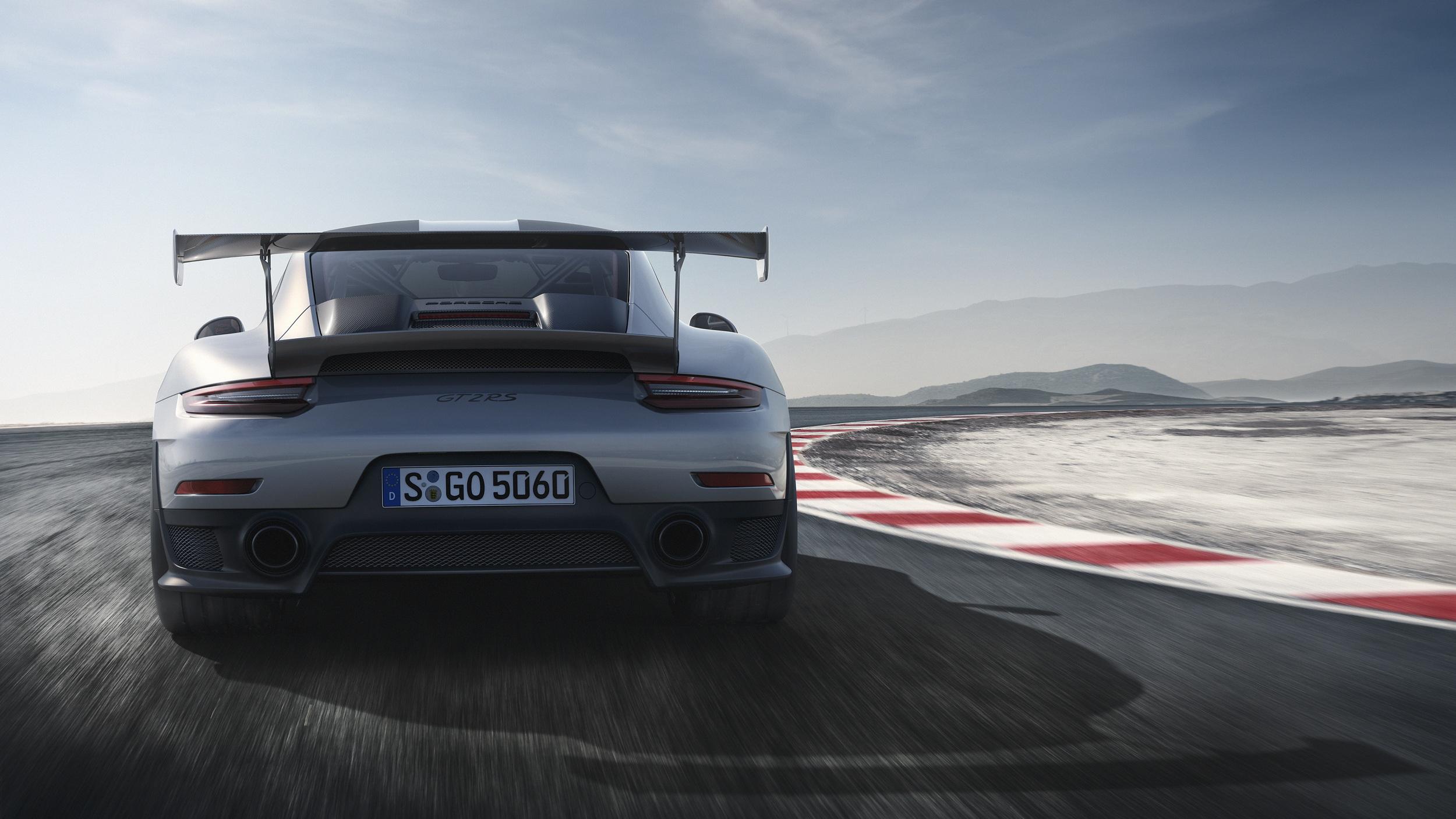 2017 Porsche 911 GT2 RS rear