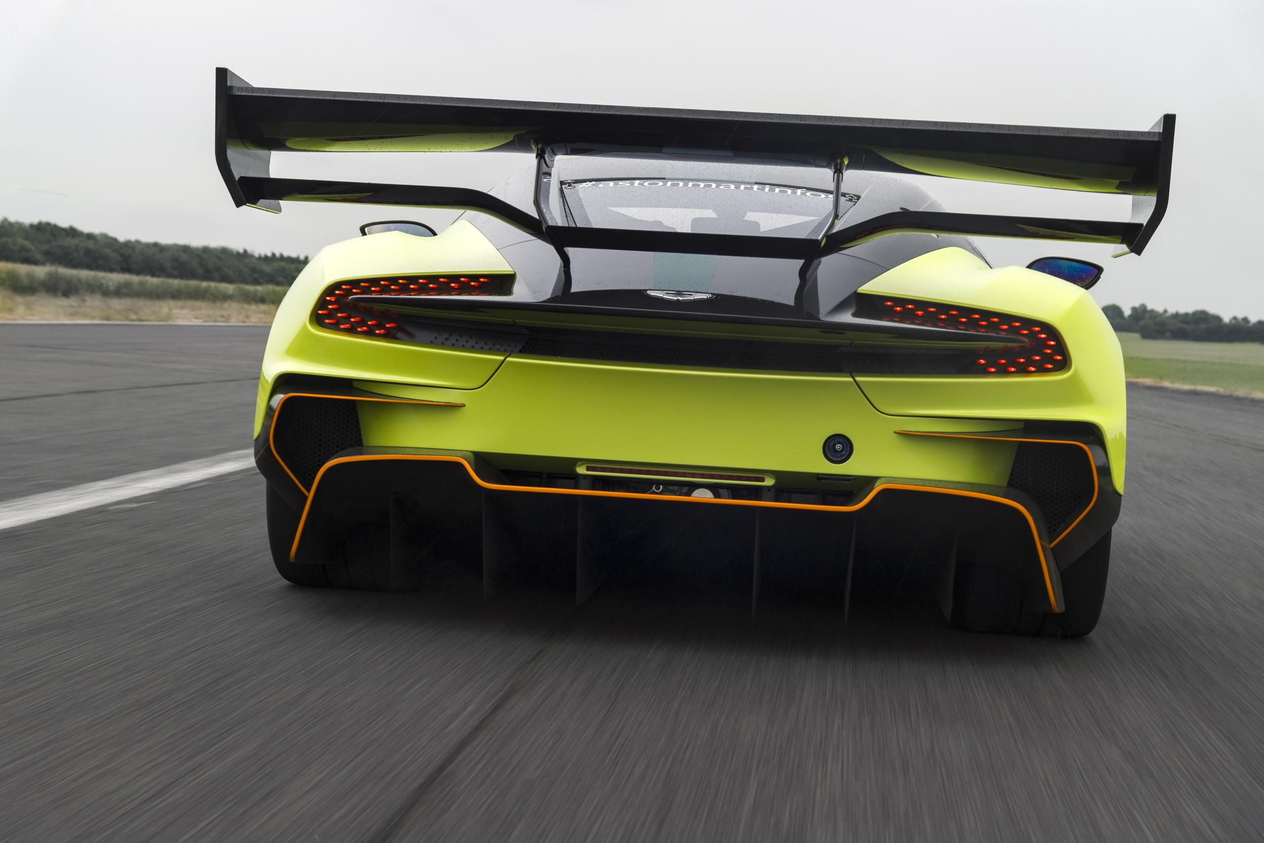 Aston Martin Vulcan AMR Pro rear driving