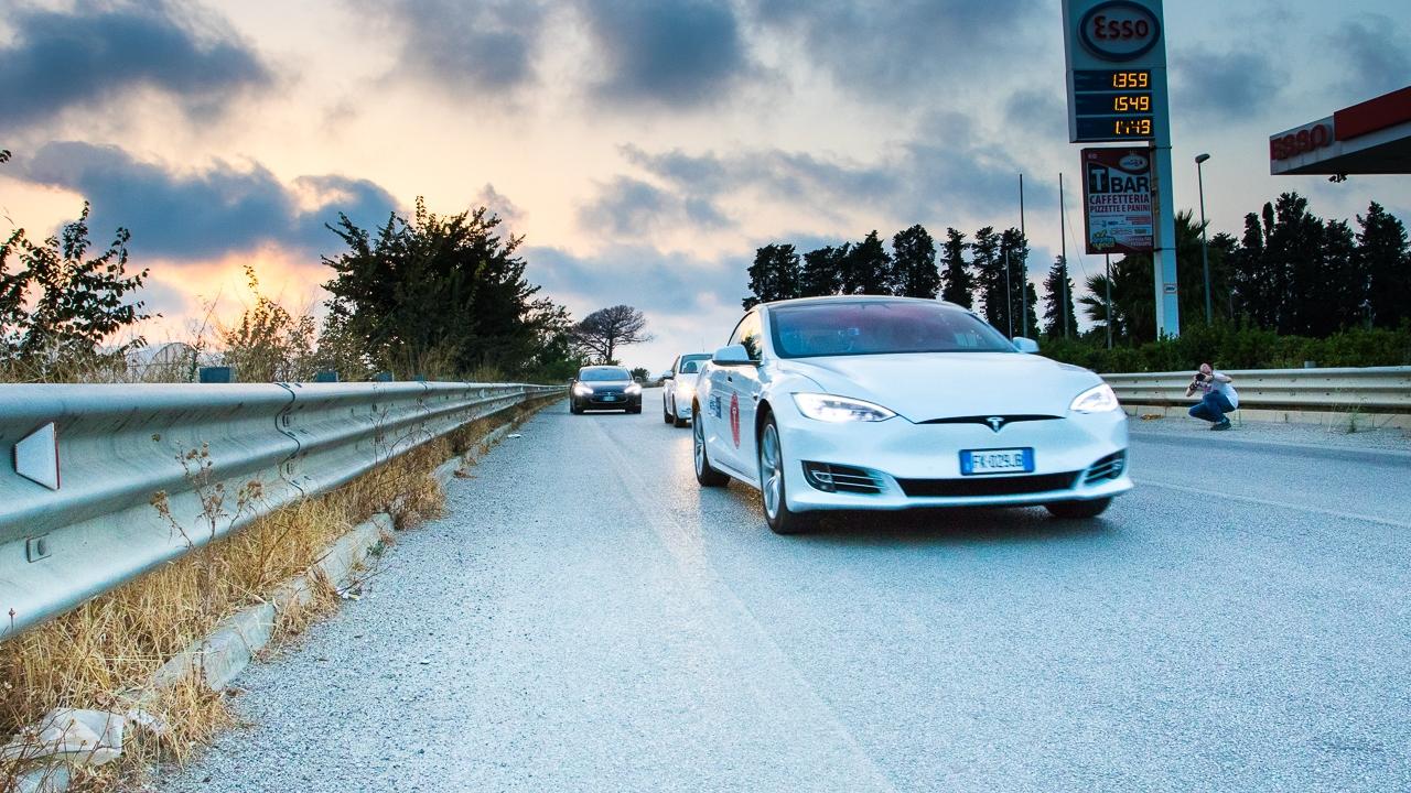 Tesla Model S 100D world record