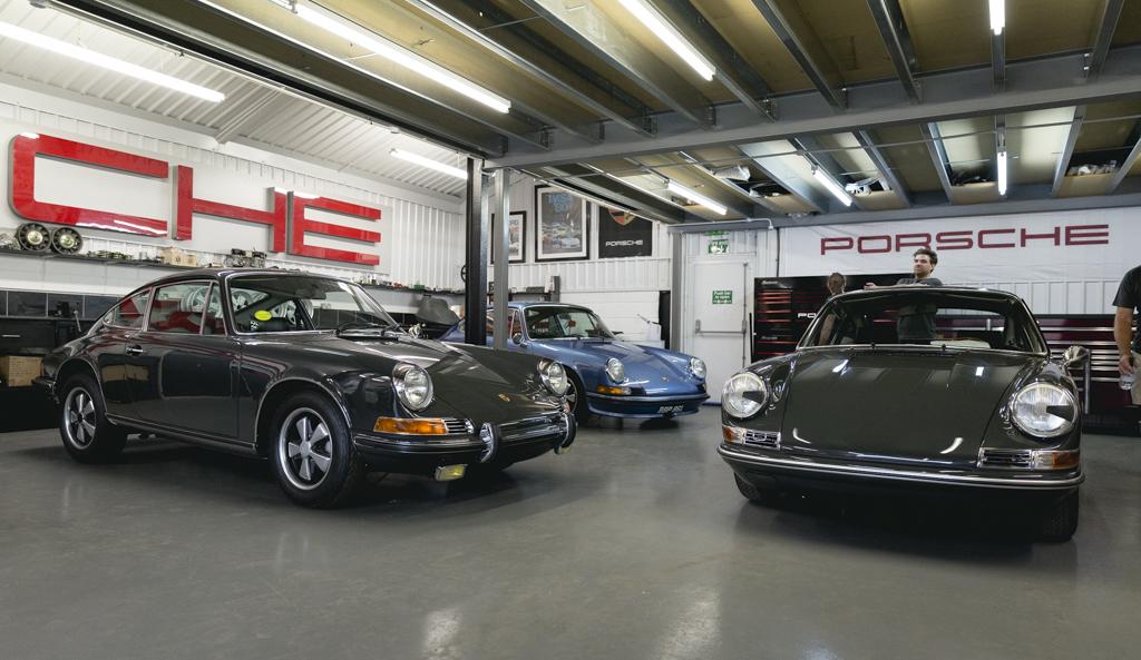 Canford Classics Porsche Pull-In 7