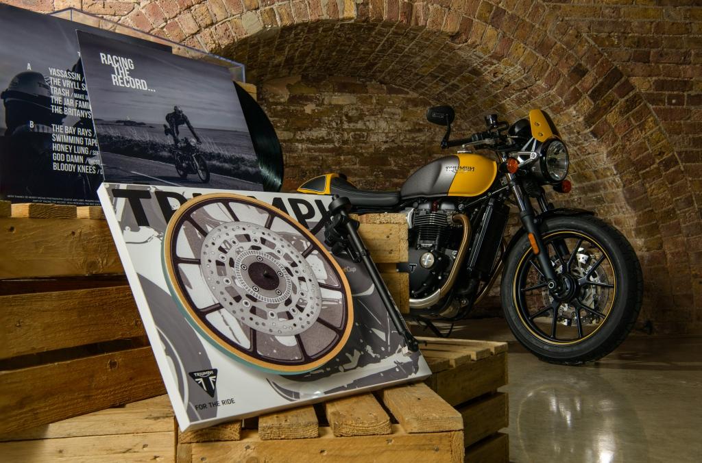 Triumph x Rega Turntable