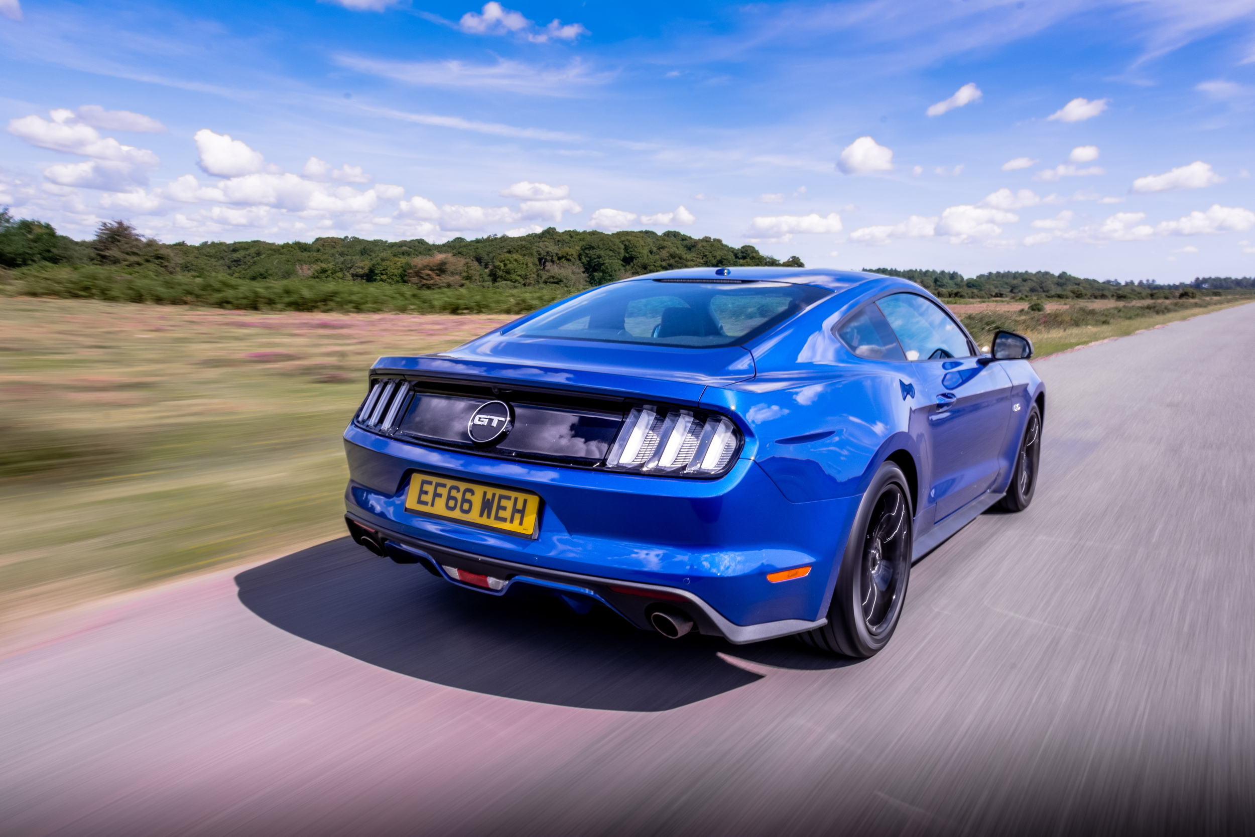Ford Mustang rear speed