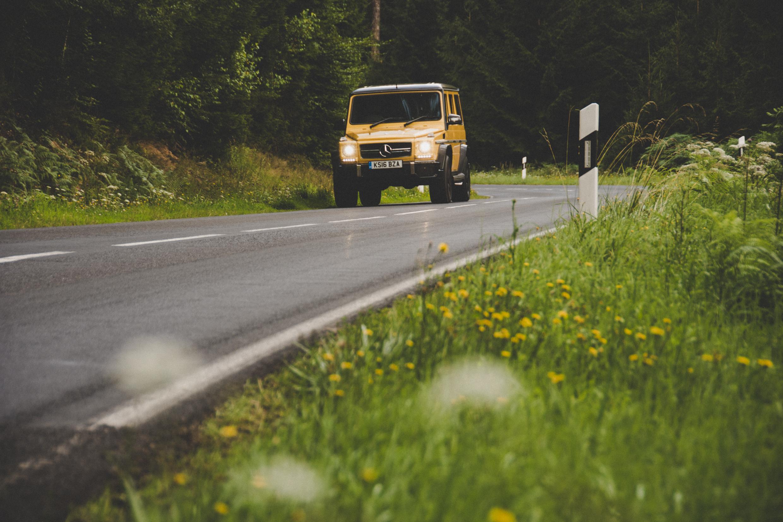 Mercedes-AMG G 63 road trip