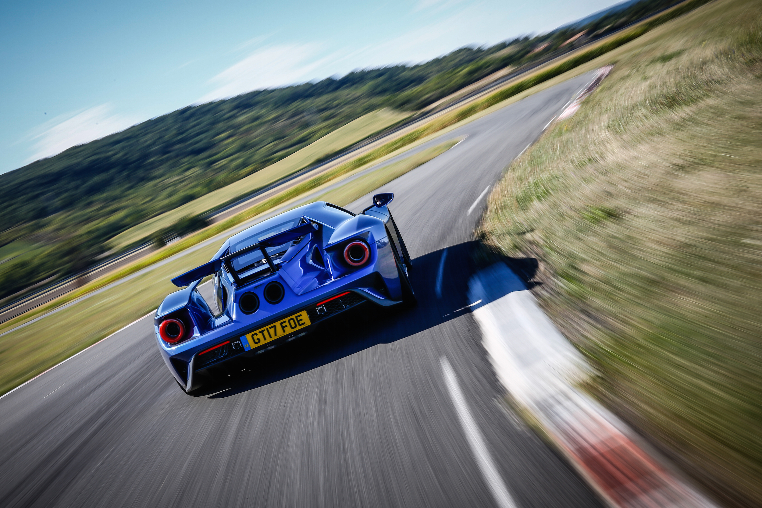 With Ford Gt In Track Mode It Is At Its Most Aggressive Unleashing Full Power From The Engine Via The Most Sensitive Throttle Response And Immediate Gear