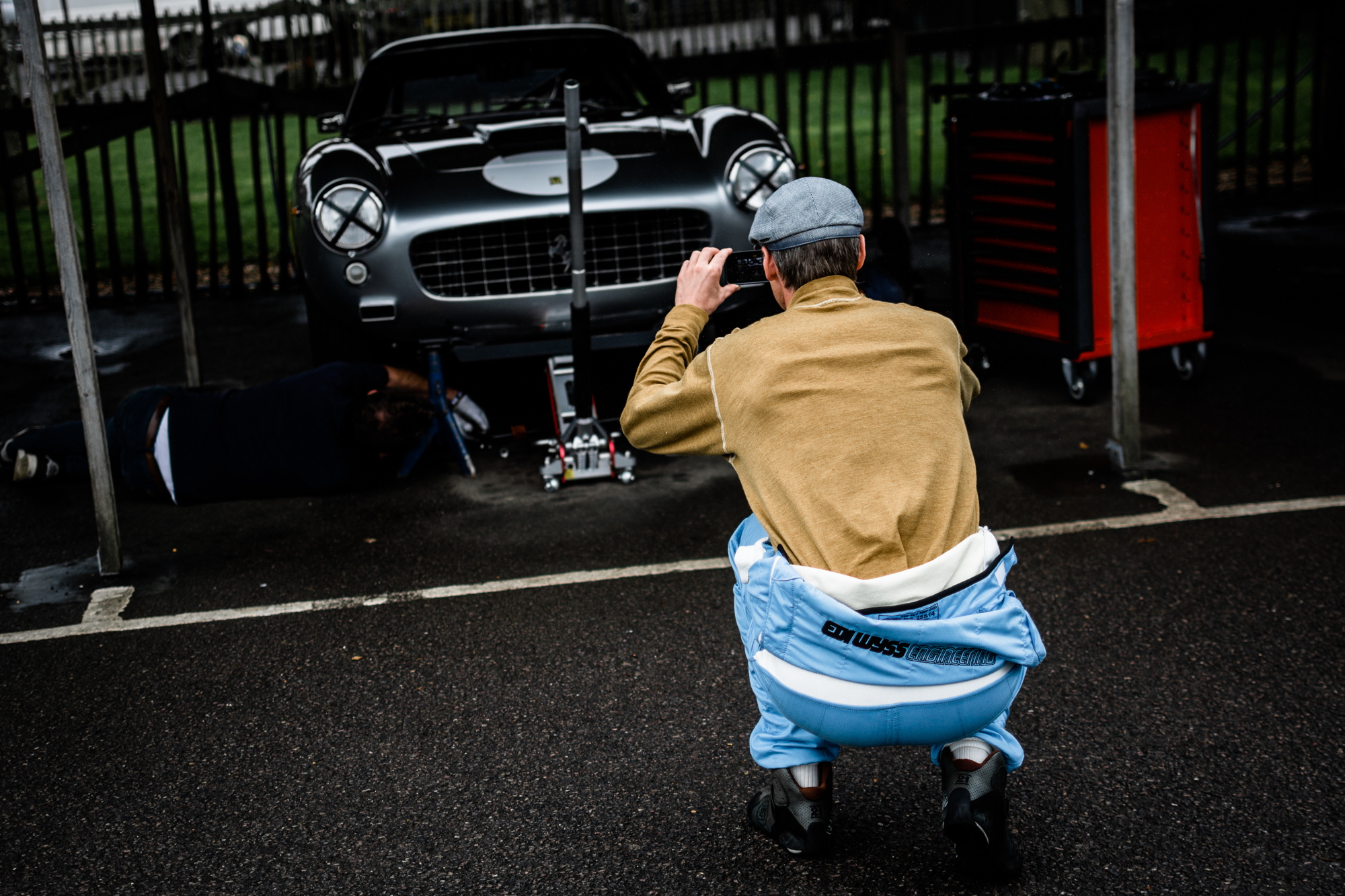Goodwood Revival testing photo