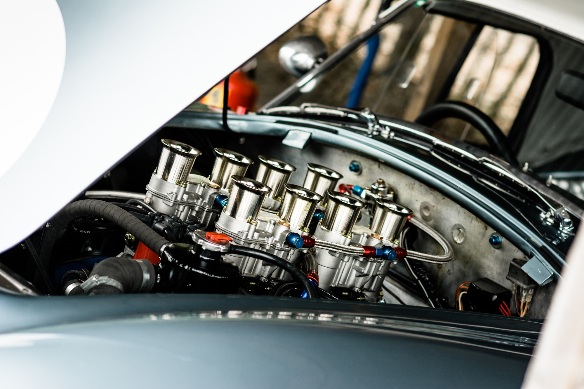 Goodwood Revival testing Cobra engine