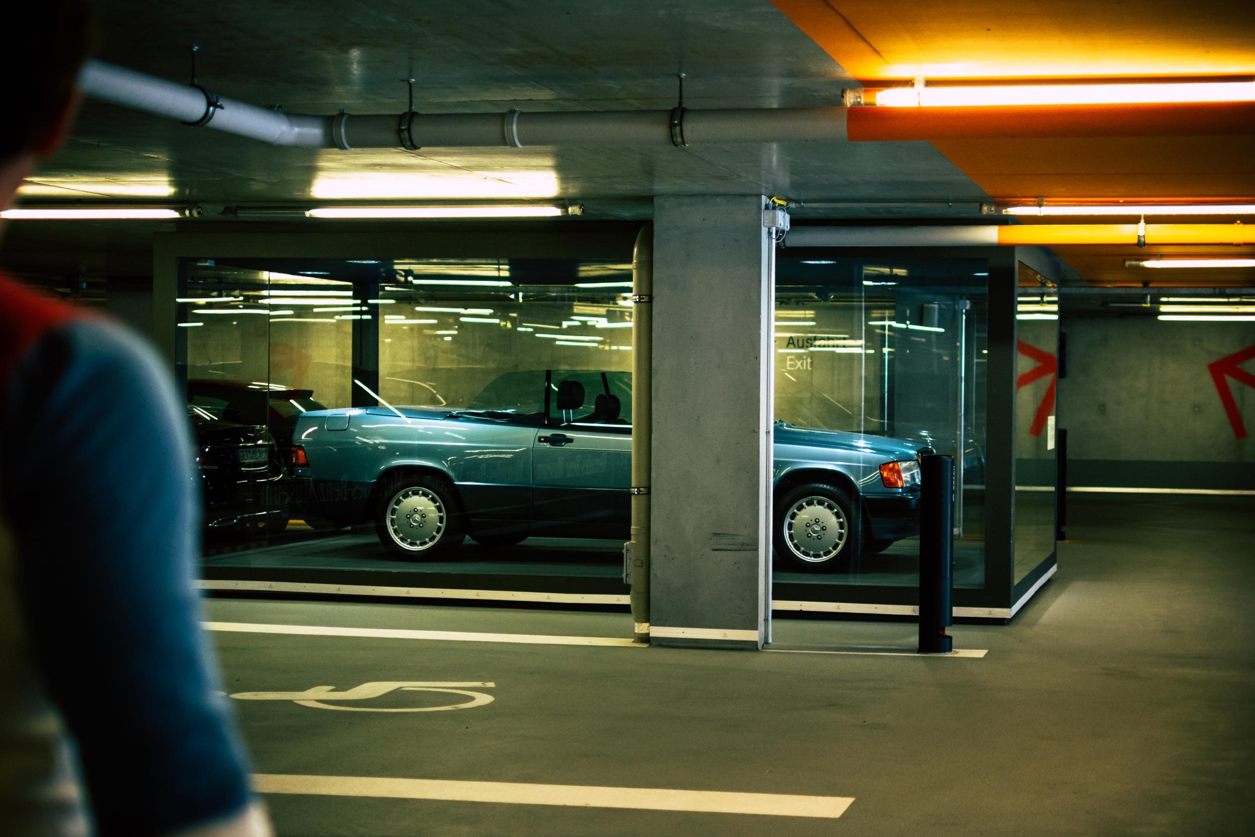 Mercedes-Benz Museum car park