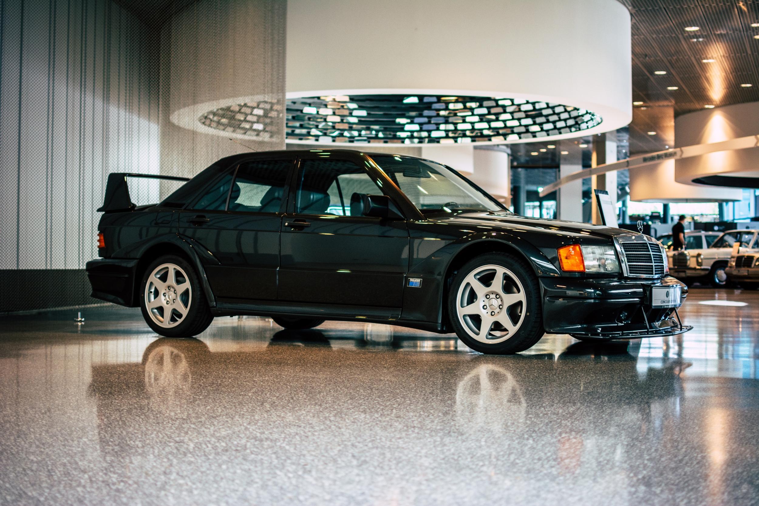 Mercedes-Benz Museum 190E Cosworth Evo 2