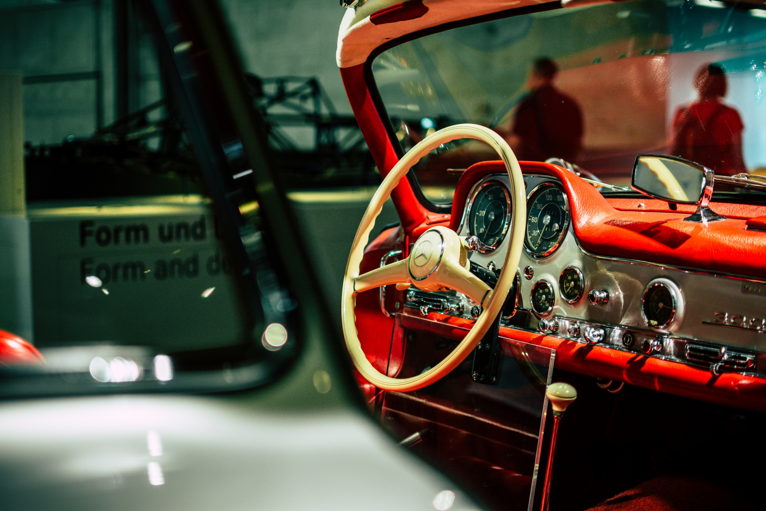 Mercedes-Benz Museum 300 SL interior