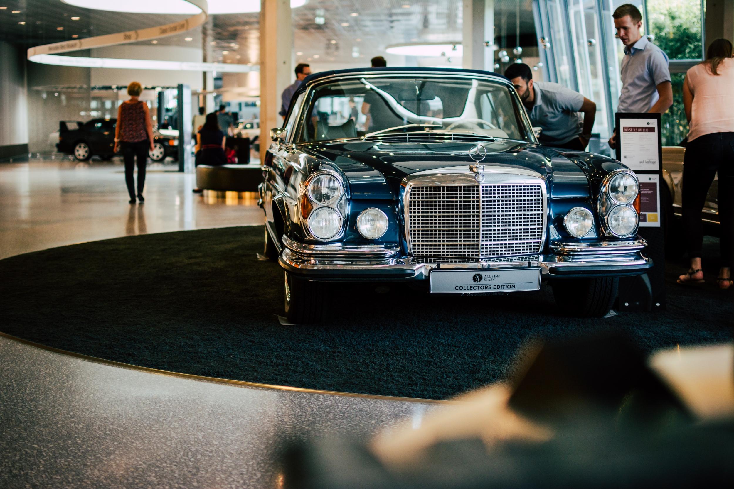 Mercedes-Benz Museum 280 SE 3.5