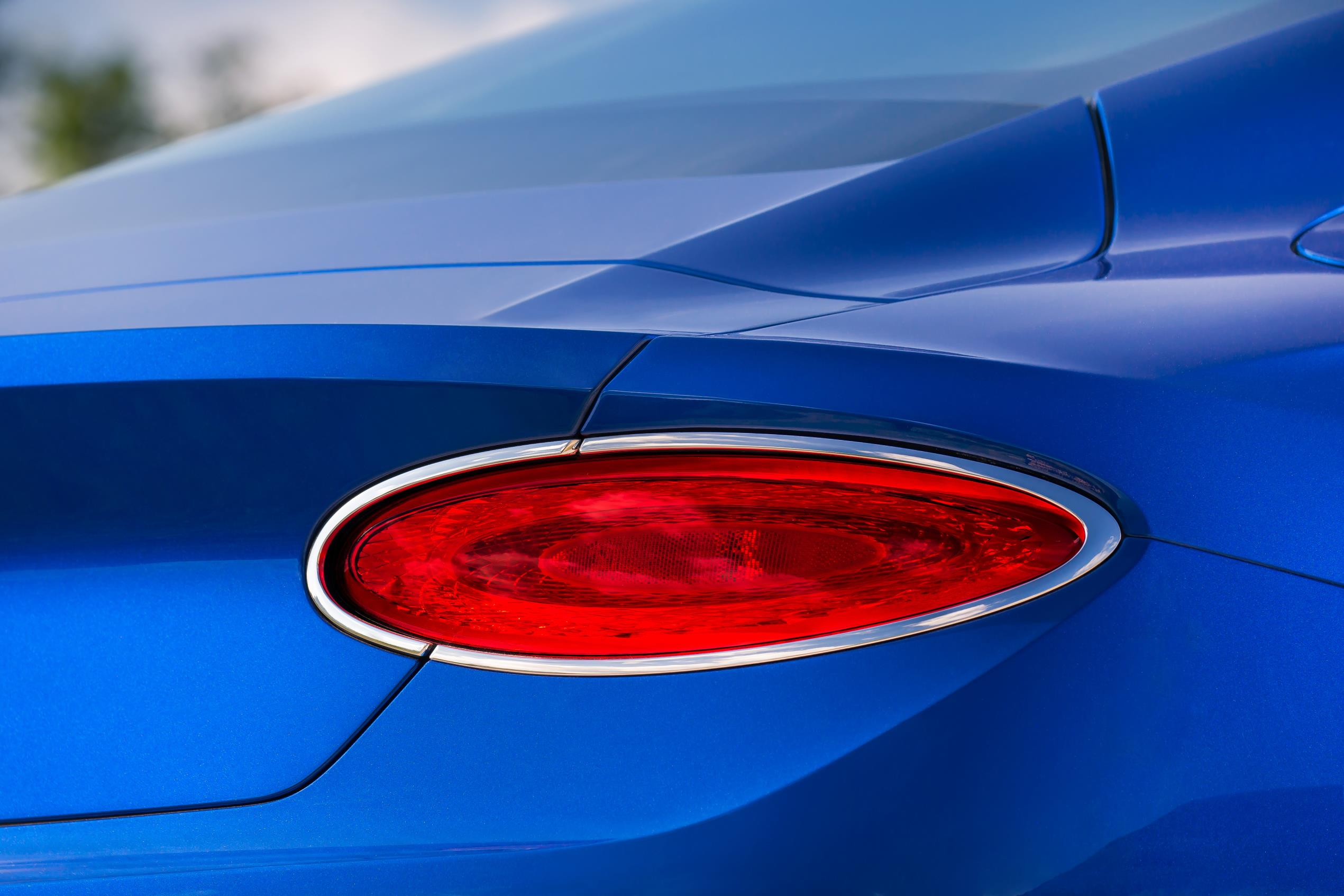 2018 Bentley Continental GT rear lights