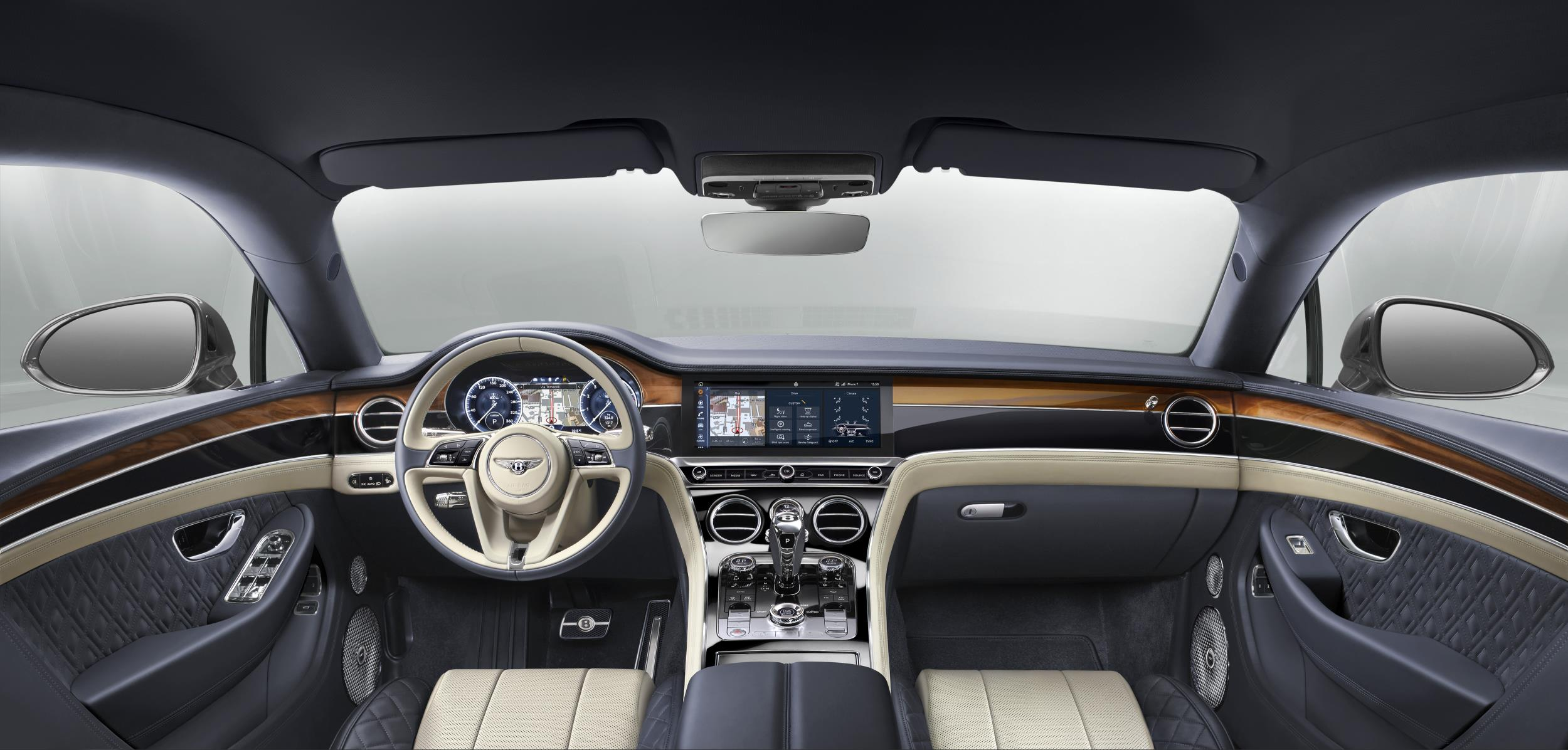 Bentley Continental GT interior 2018