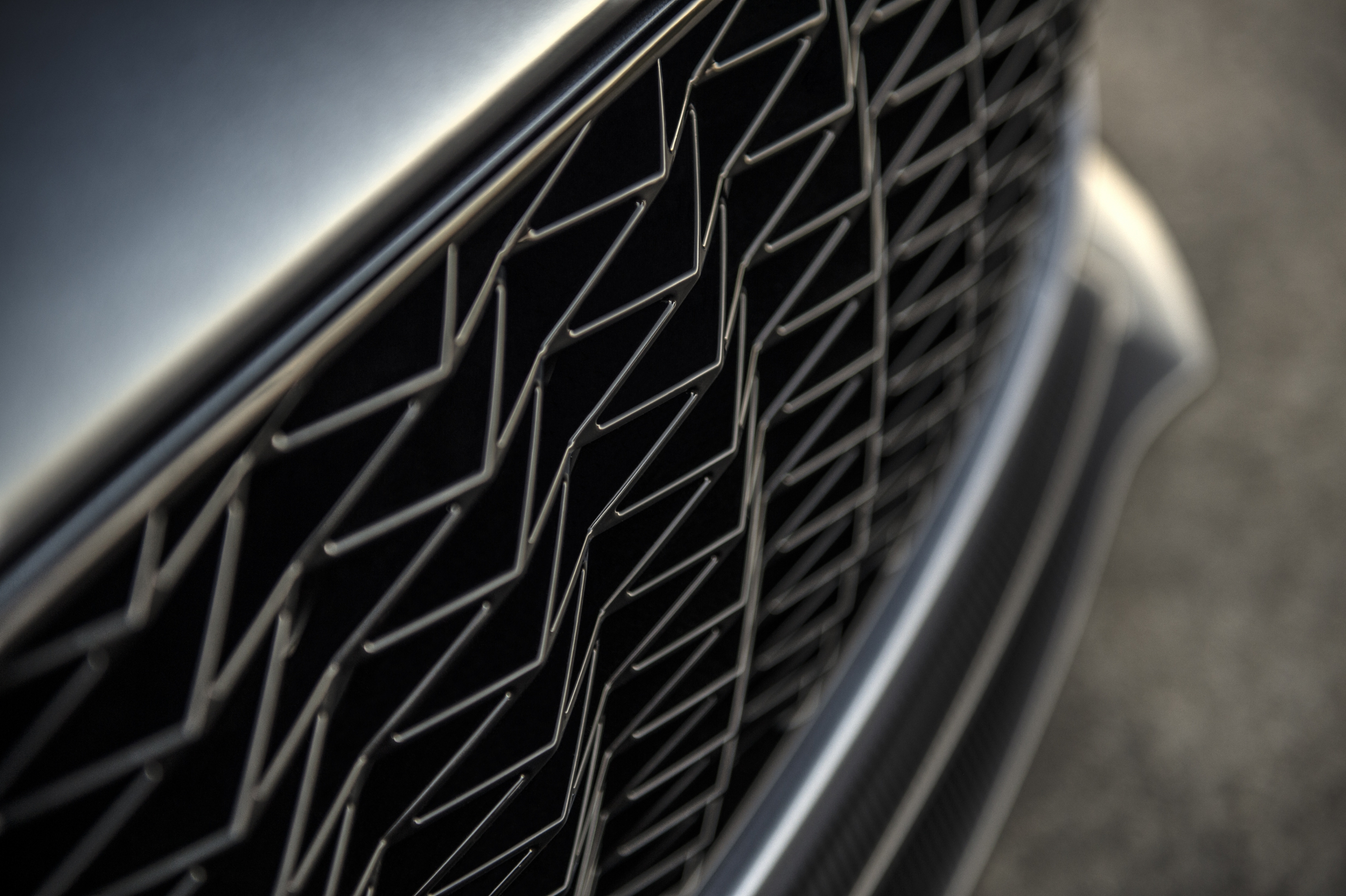 Aston Martin Vanquish Zagato grille