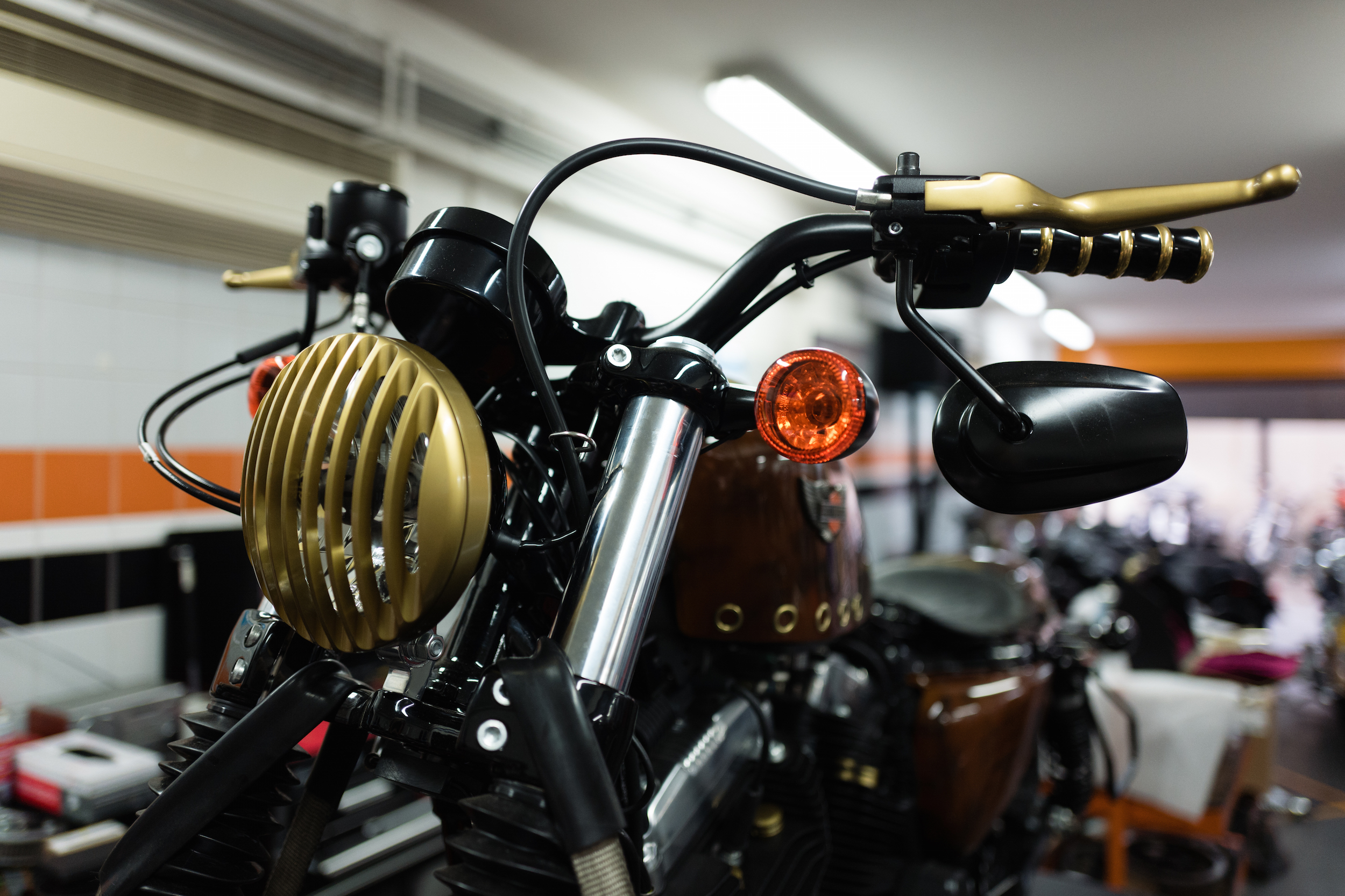 Captain Fawcett Ltd x Harley-Davidson Sportster Forty-Eight