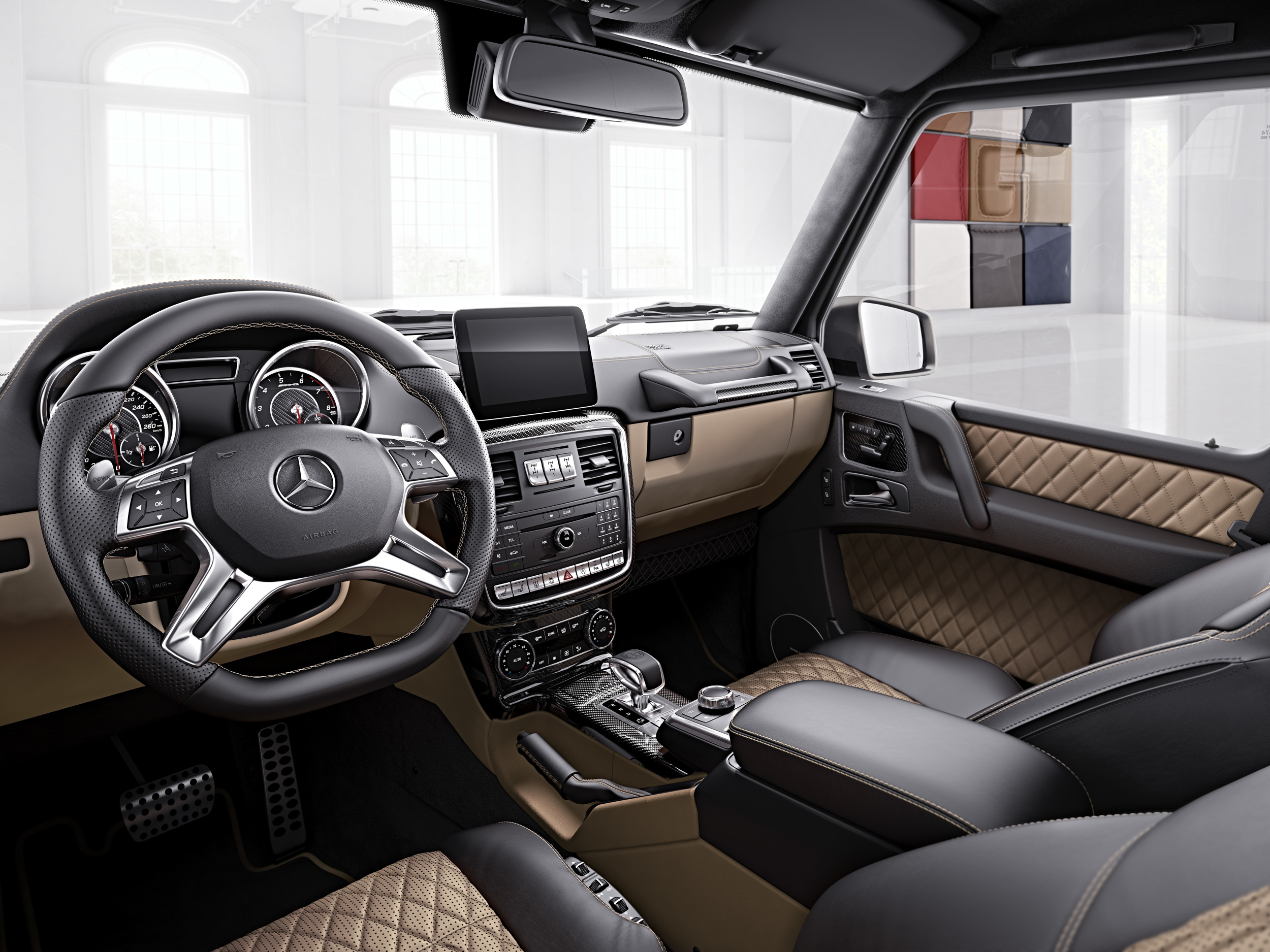 Mercedes-AMG G-Class Exclusive Edition interior