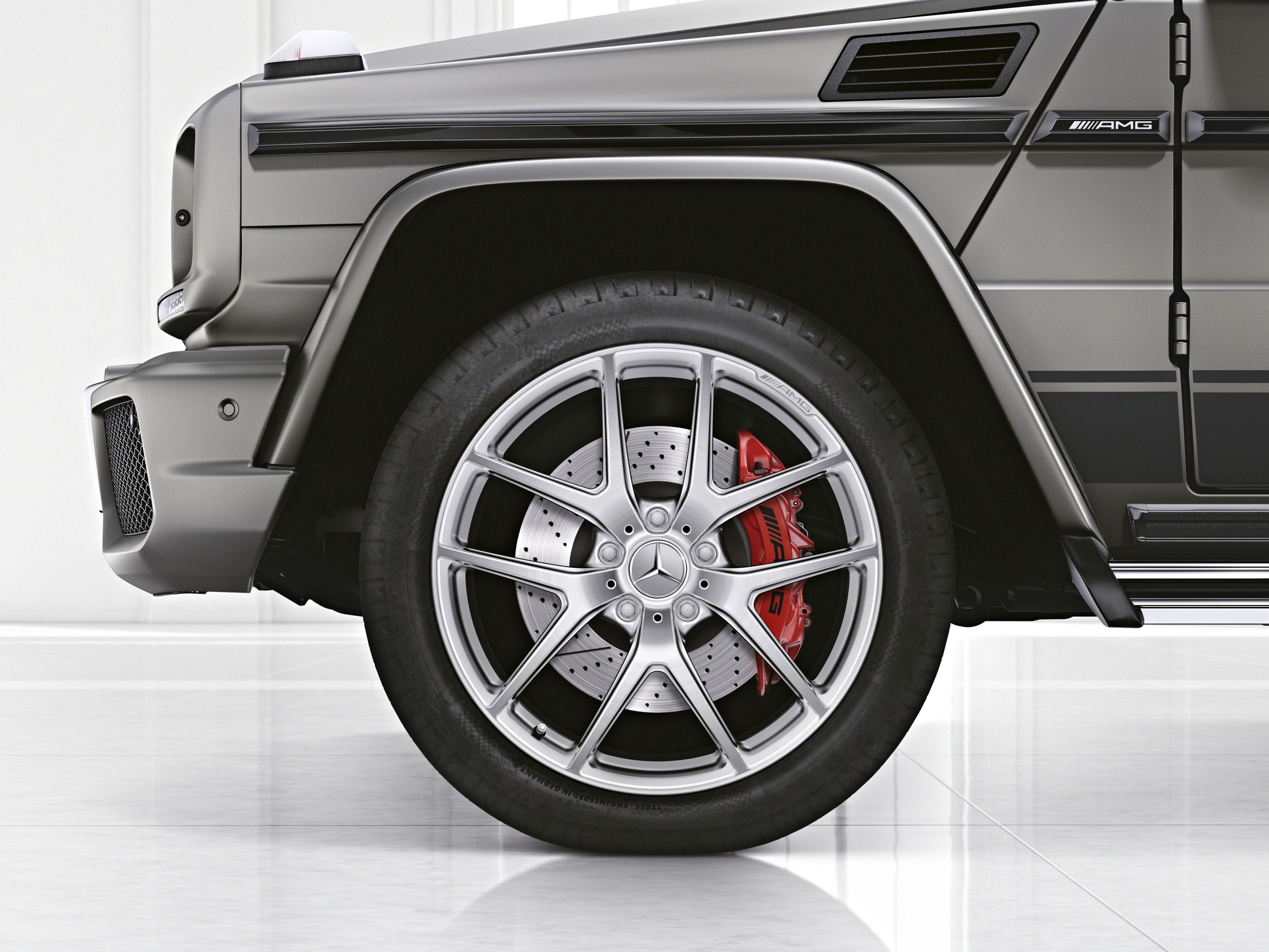 Mercedes-AMG G 63 Exclusive Edition wheels