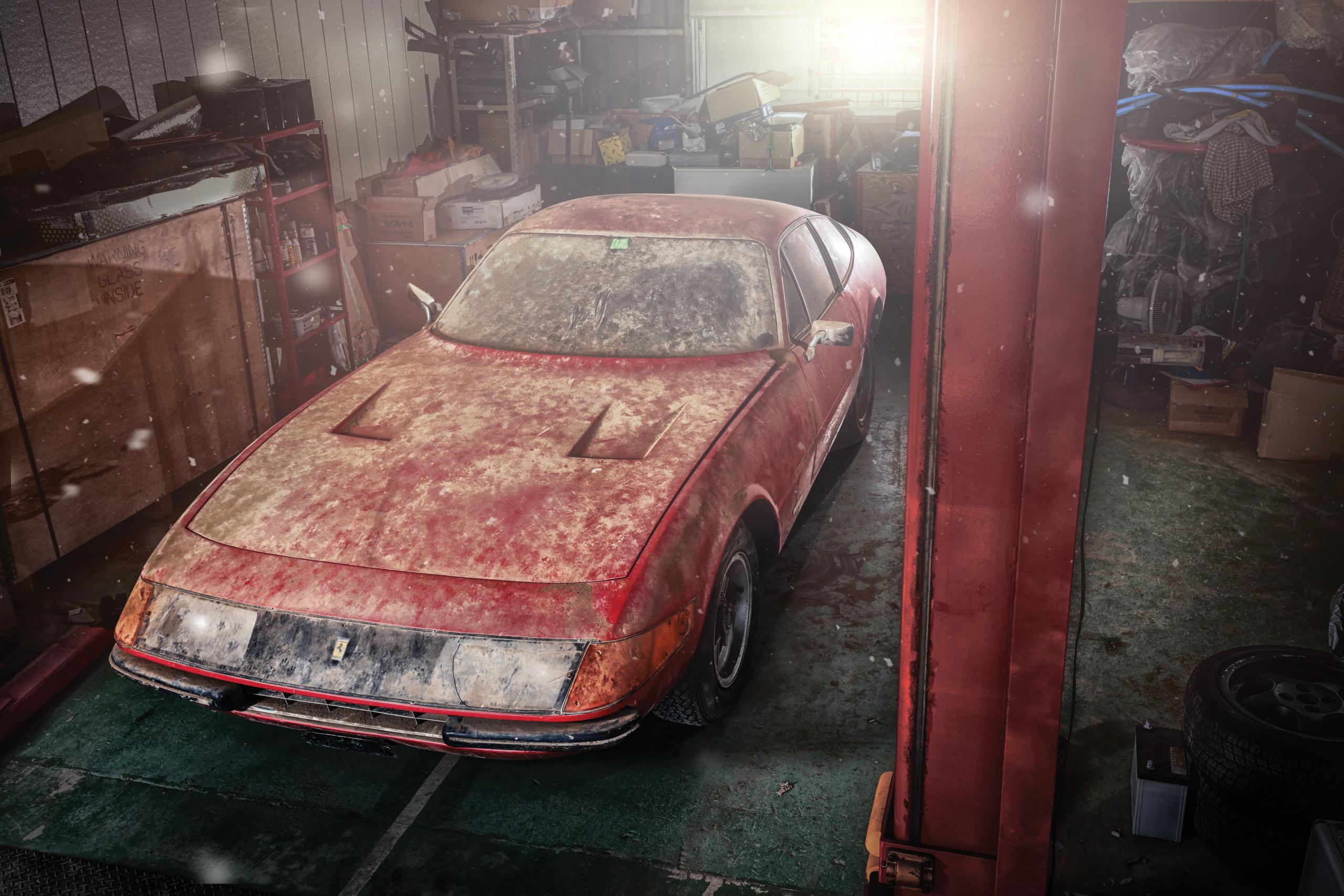 RM Sotheby's Maranello Ferrari 365 GTB/4 Alloy