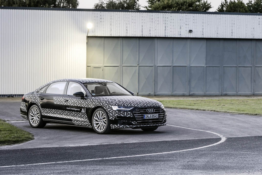 Audi A8 Piloted Drive