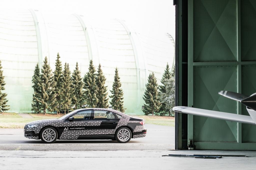 Audi A8 Piloted Drive