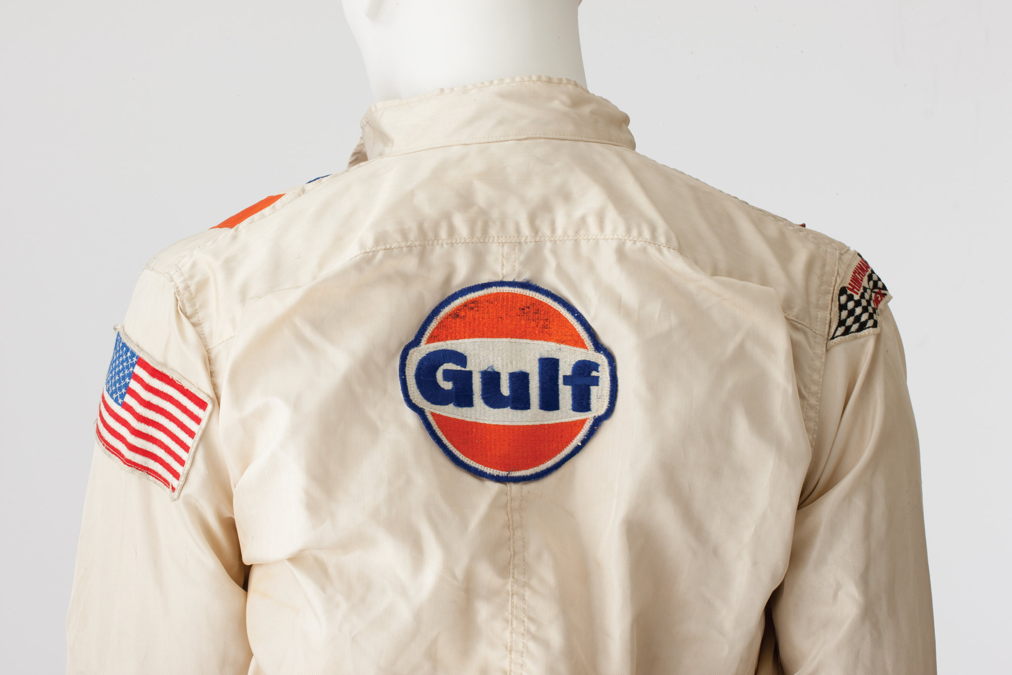 Steve McQueen Le Mans Gulf overalls