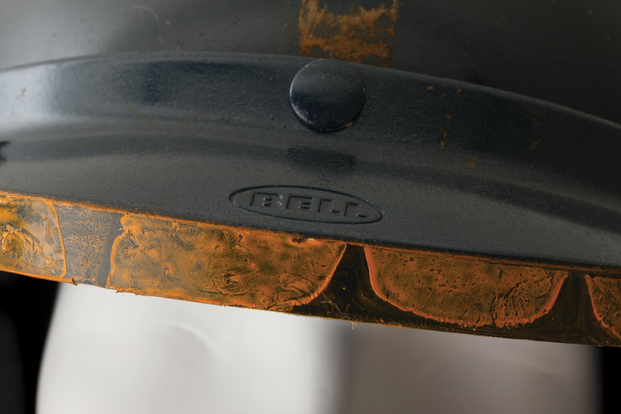 Steve McQueen Bell helmet Le Mans
