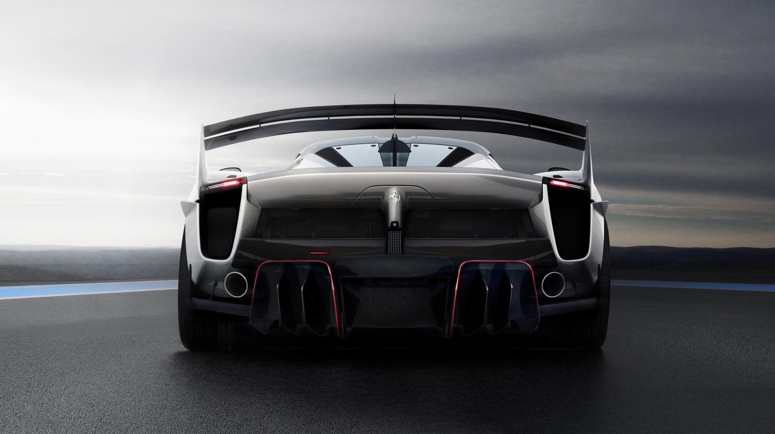 Ferrari FXX-K Evo rear