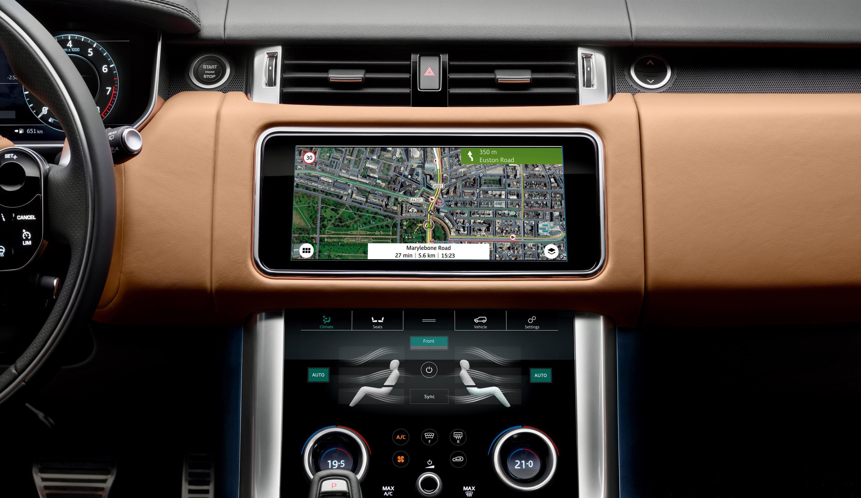 2018 Range Rover Sport infotainment