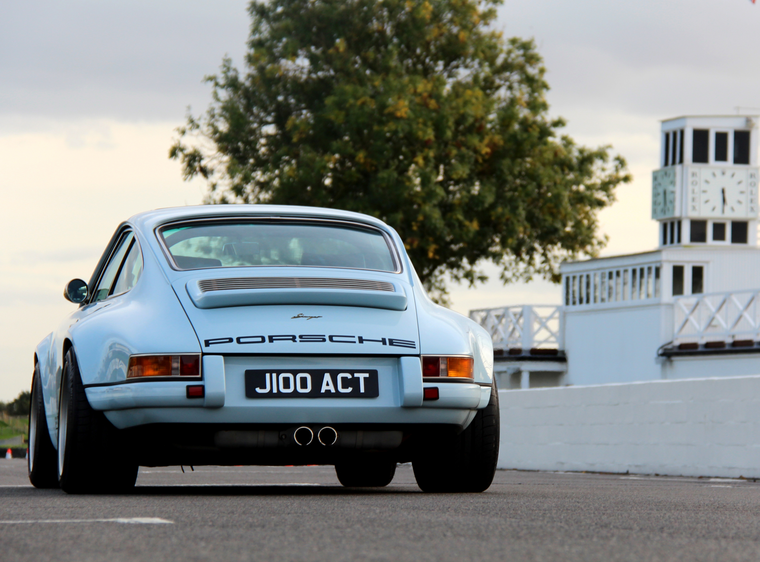 Porsche 911 by Singer Dorset Goodwood rear