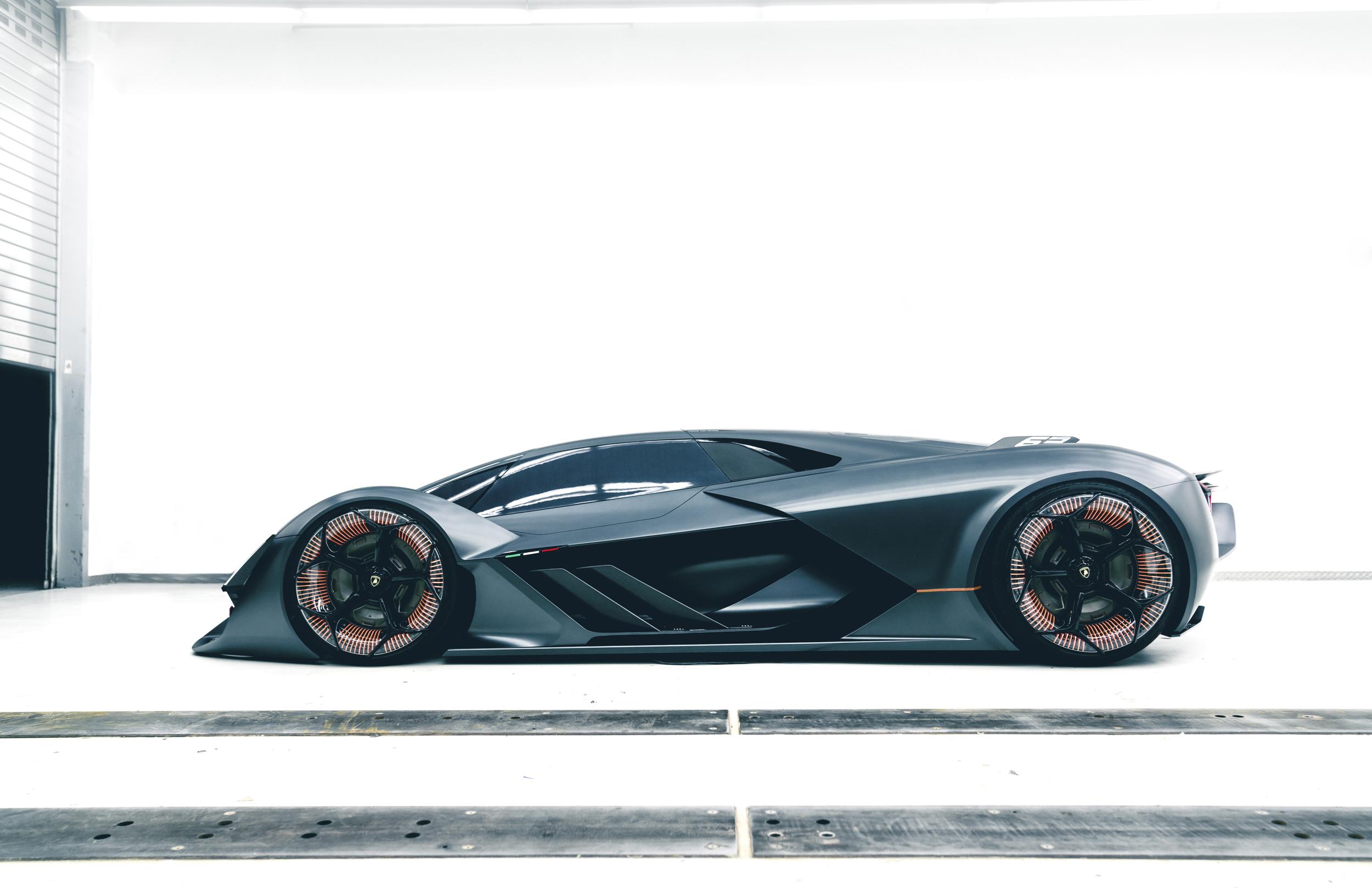 Lamborghini Terzo Millennio side profile