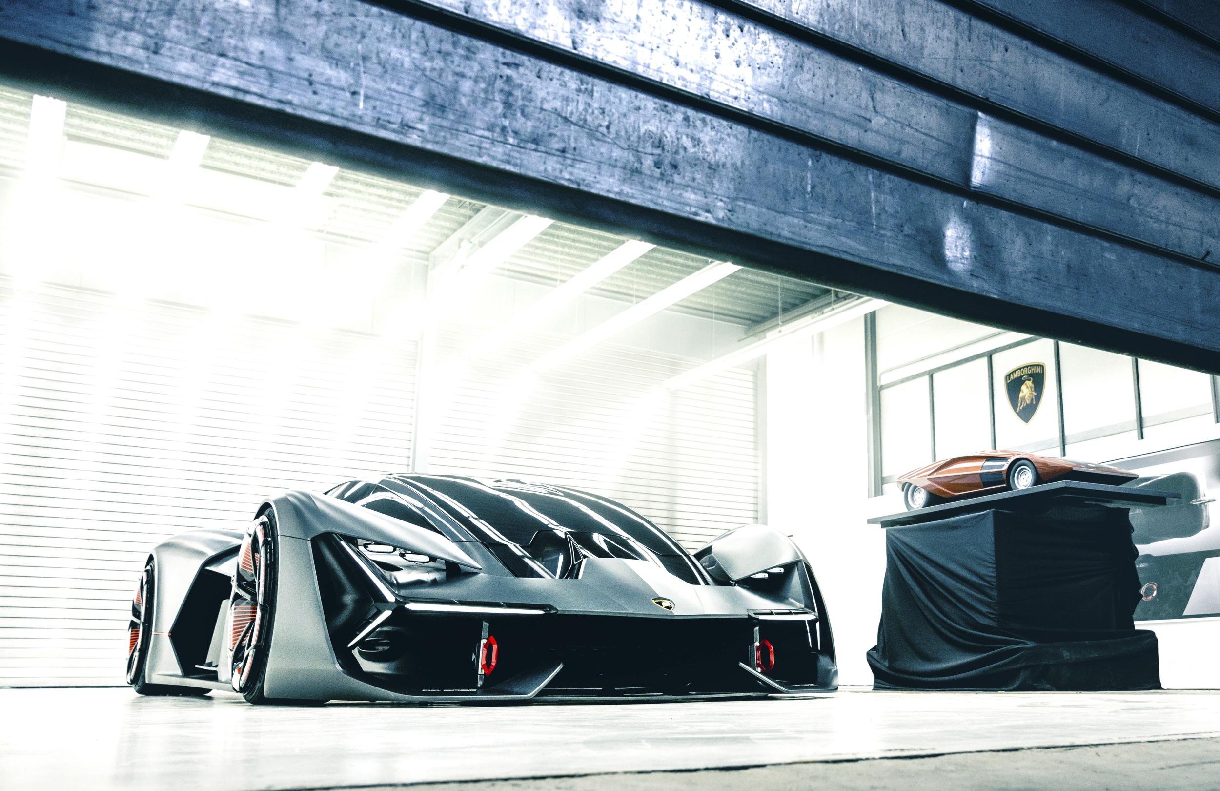 Lamborghini Terzo Millennio front side