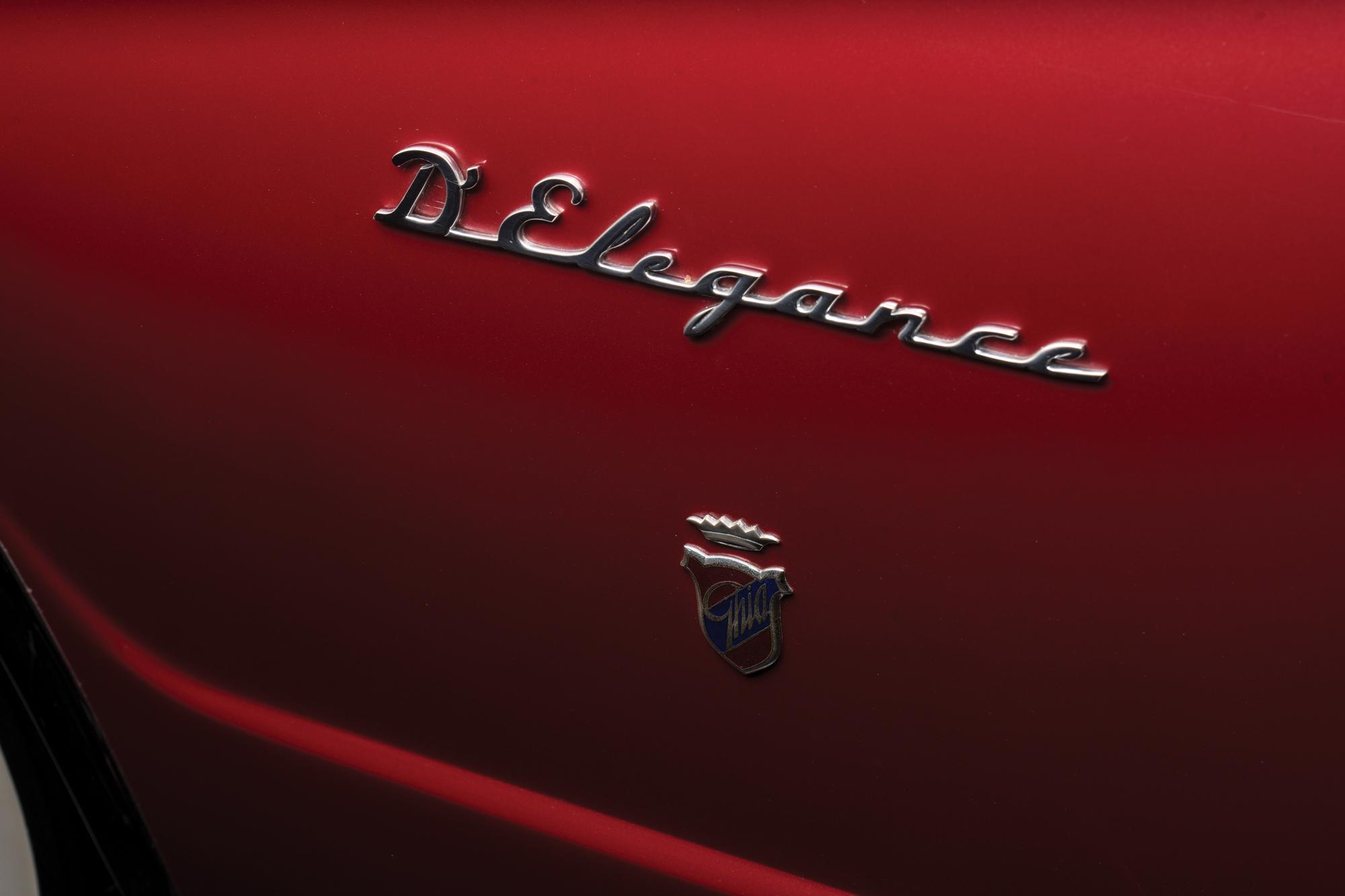 1952 Chrysler D'Elegance by Ghia badge