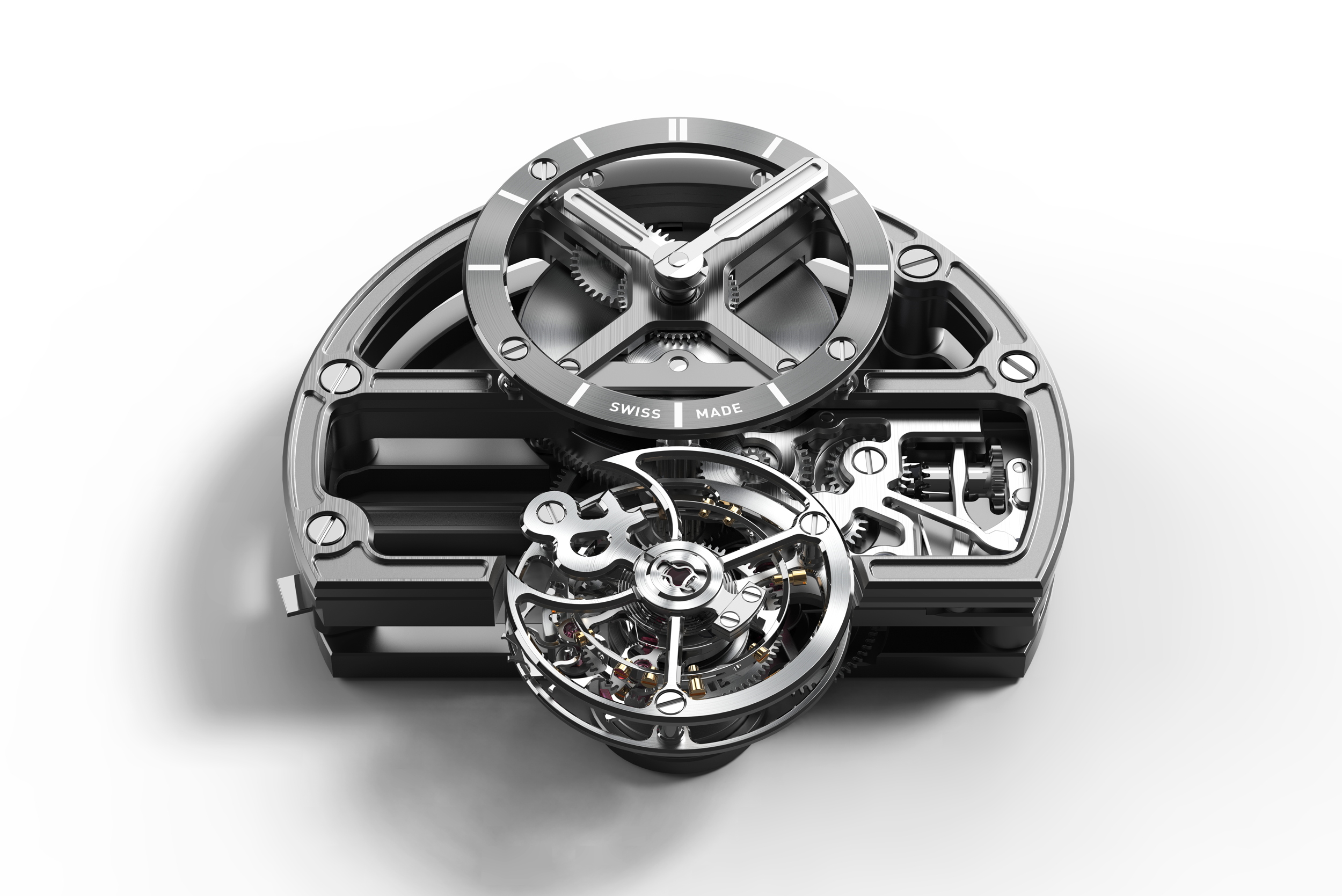 Bell & Ross BR-X1 Skeleton Tourbillon Sapphire movement