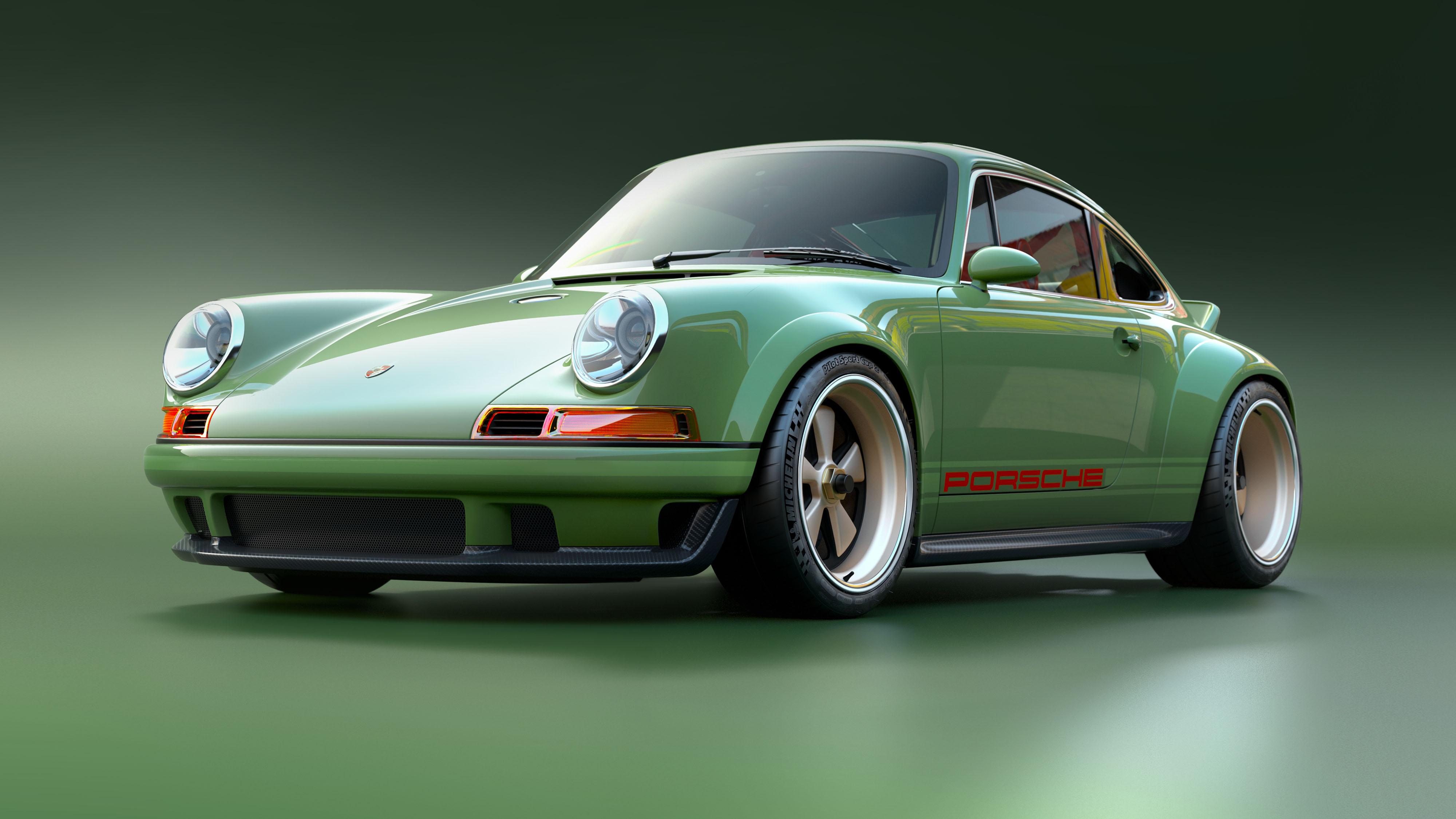 Porsche 911 restored by Singer & Williams front