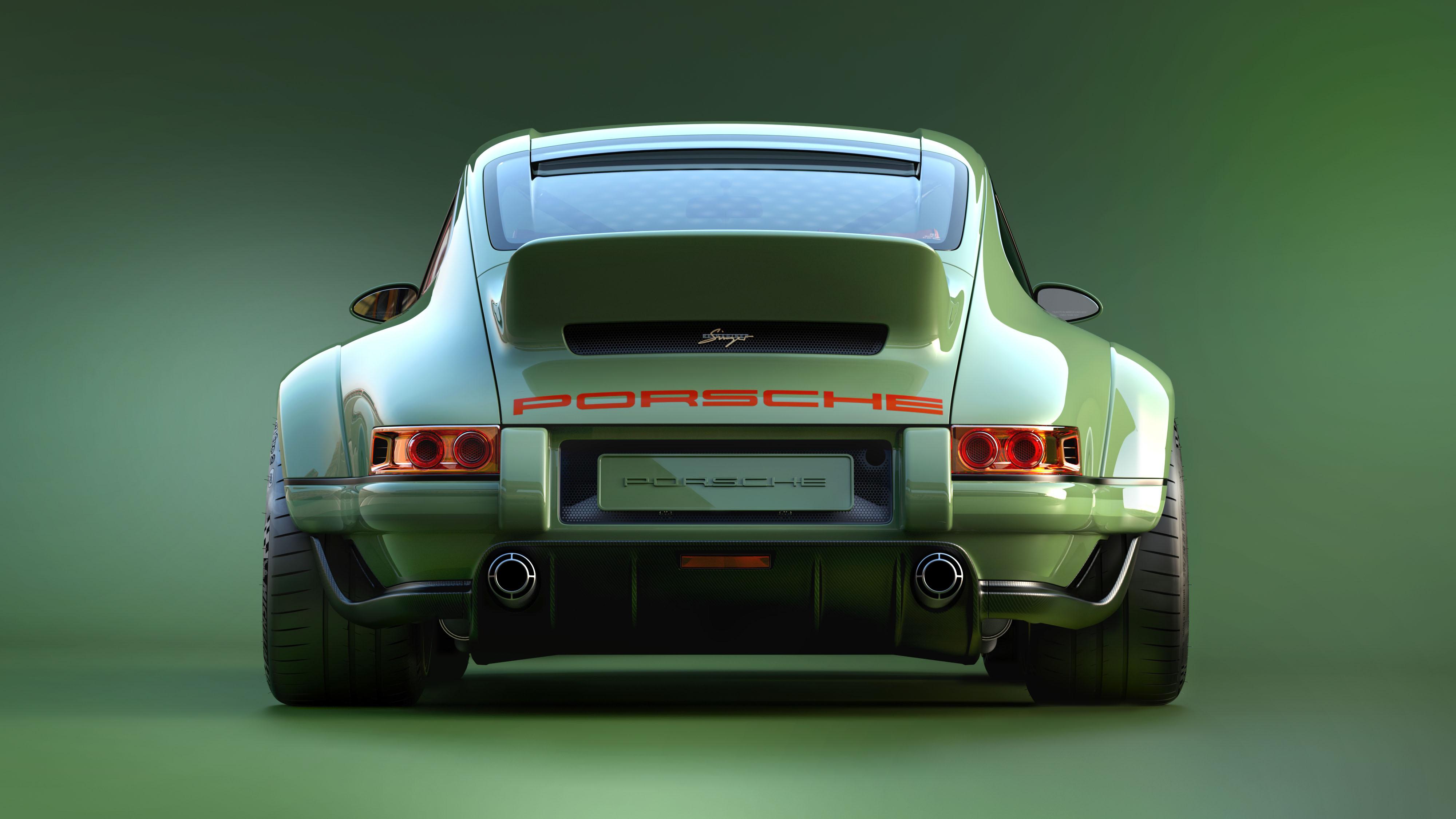 Porsche 911 restored by Singer & Williams back