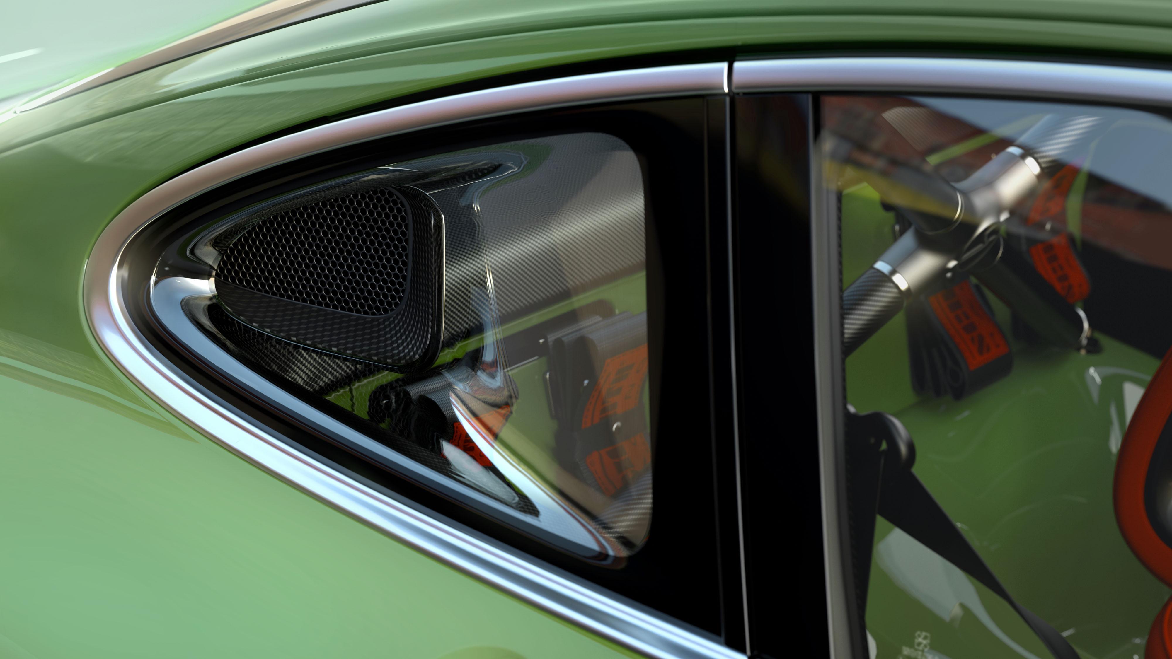 Porsche 911 restored by Singer & Williams vent