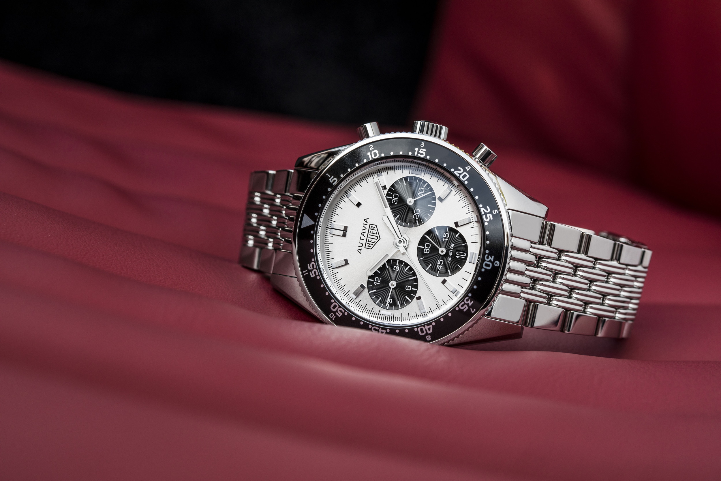 TAG Heuer Jack Heuer Anniversary Edition face