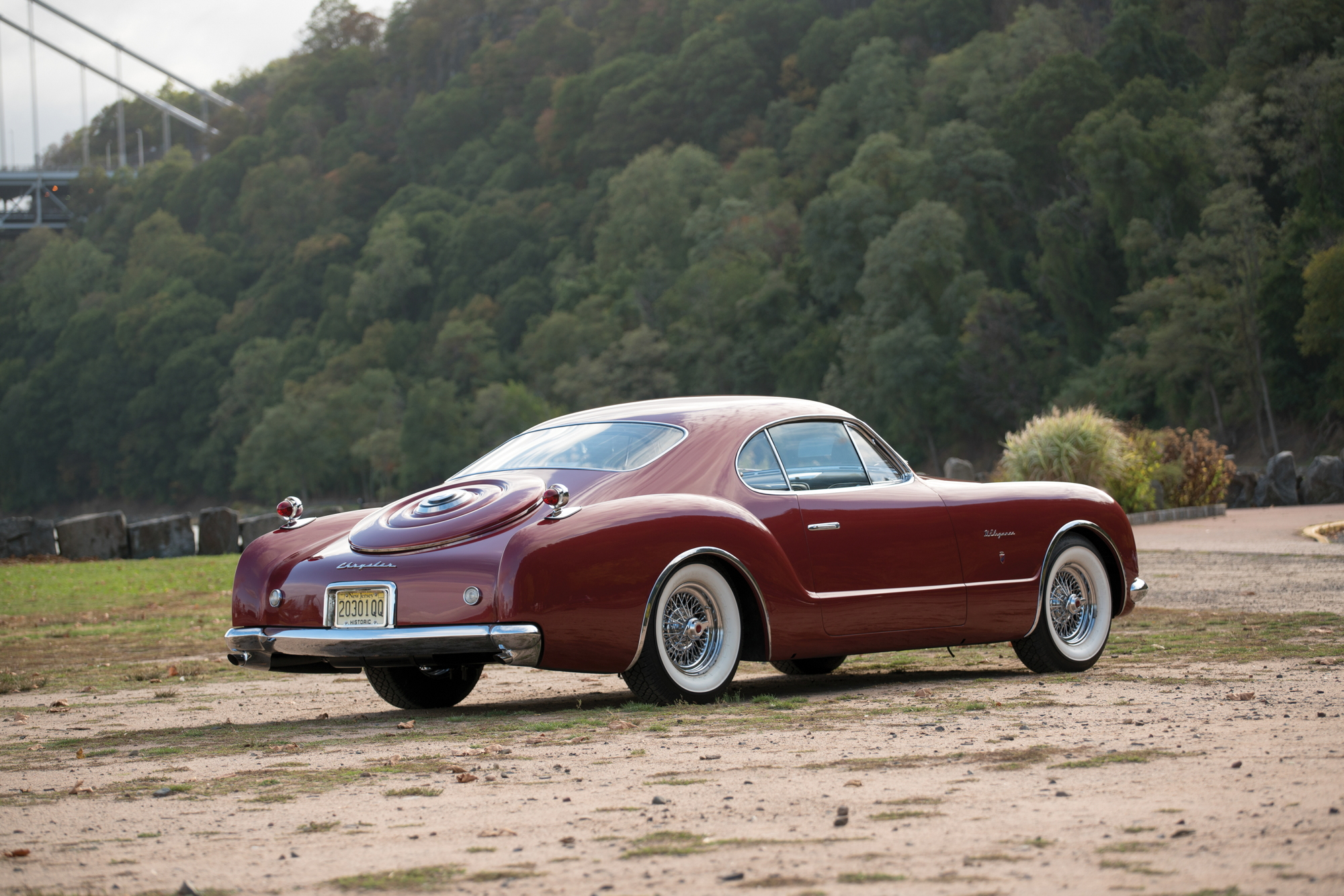 1952 Chrysler D'Elegance by Ghia rear