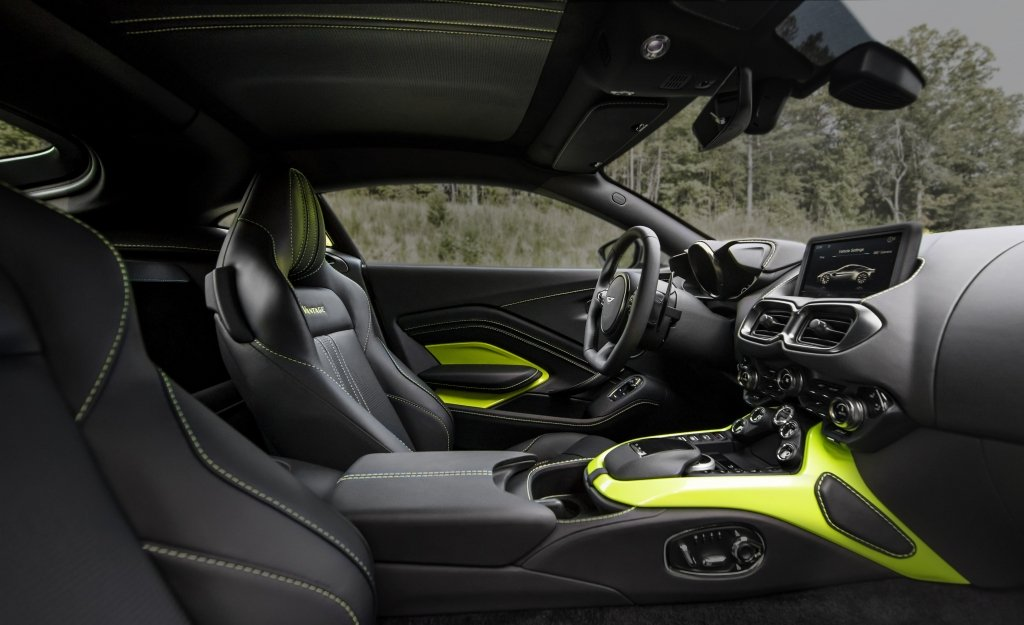 New Aston Martin Vantage Lime Essence