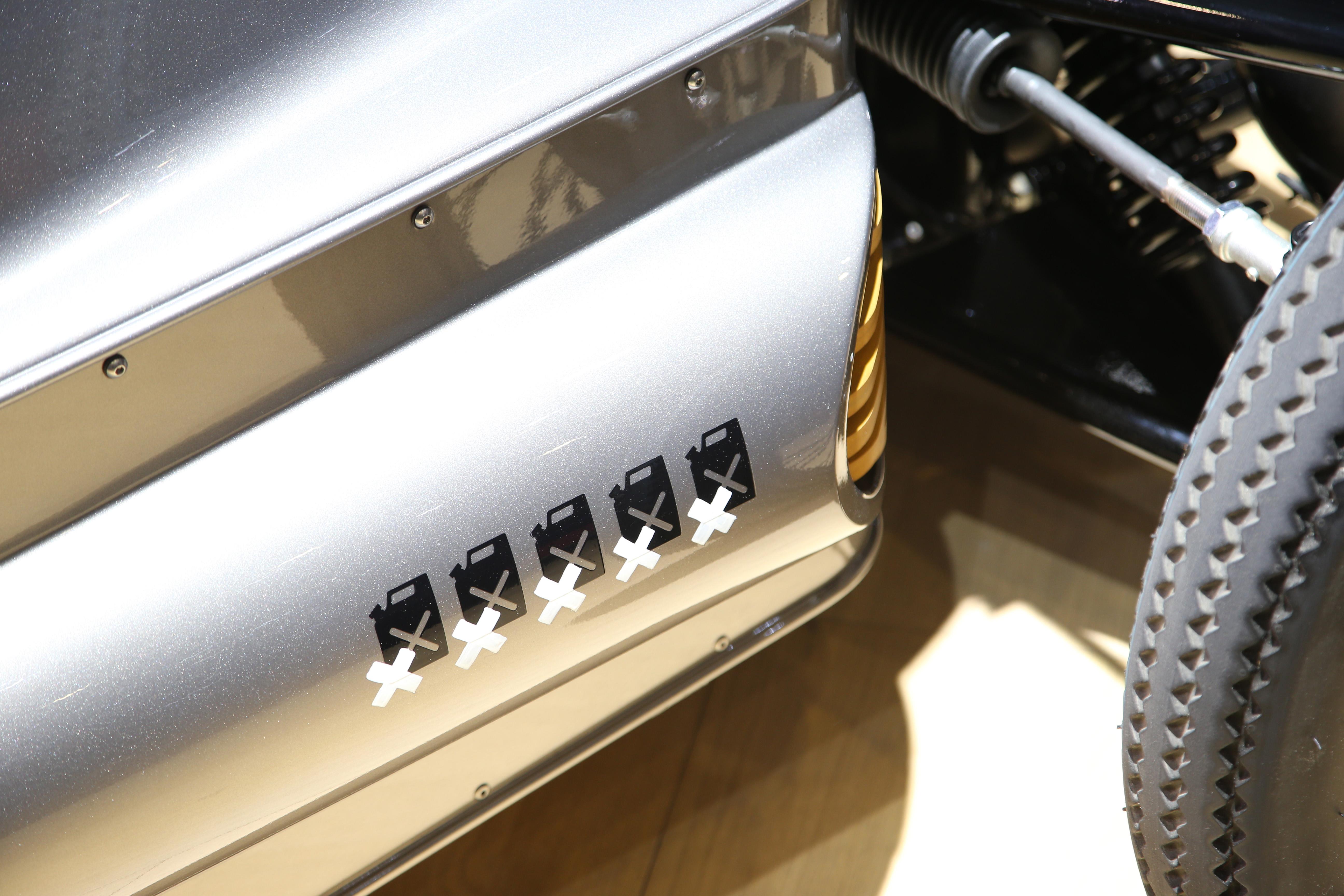 Morgan EV3 detail