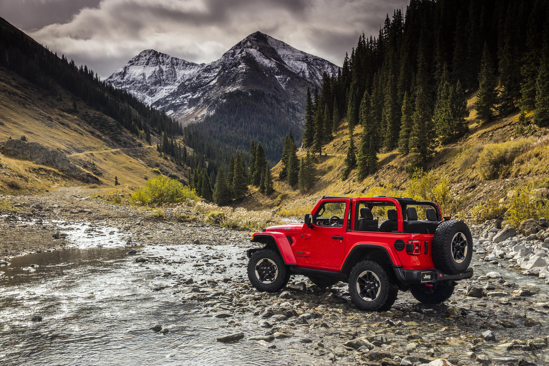 2018 Jeep Wrangler Rubicon rear